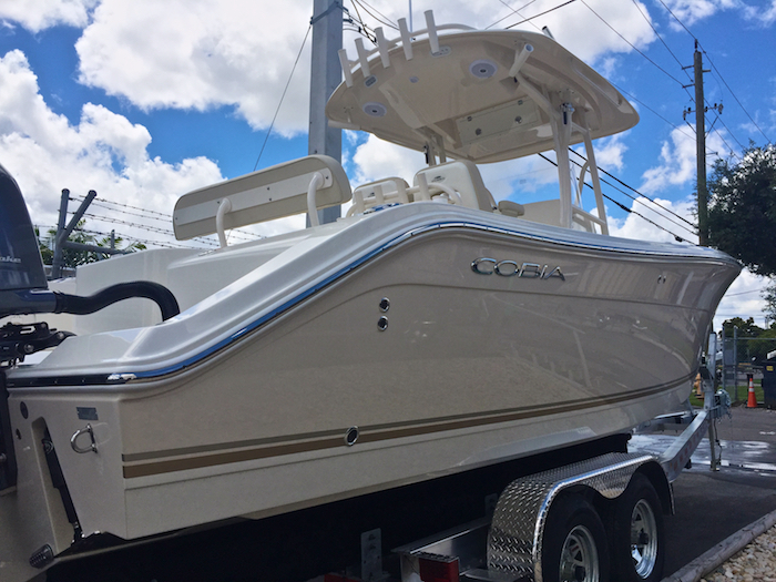 Thumbnail 2 for New 2016 Cobia 277 Center Console boat for sale in Vero Beach, FL