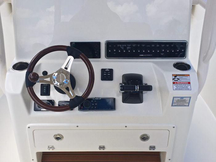 Thumbnail 11 for New 2016 Cobia 277 Center Console boat for sale in Vero Beach, FL