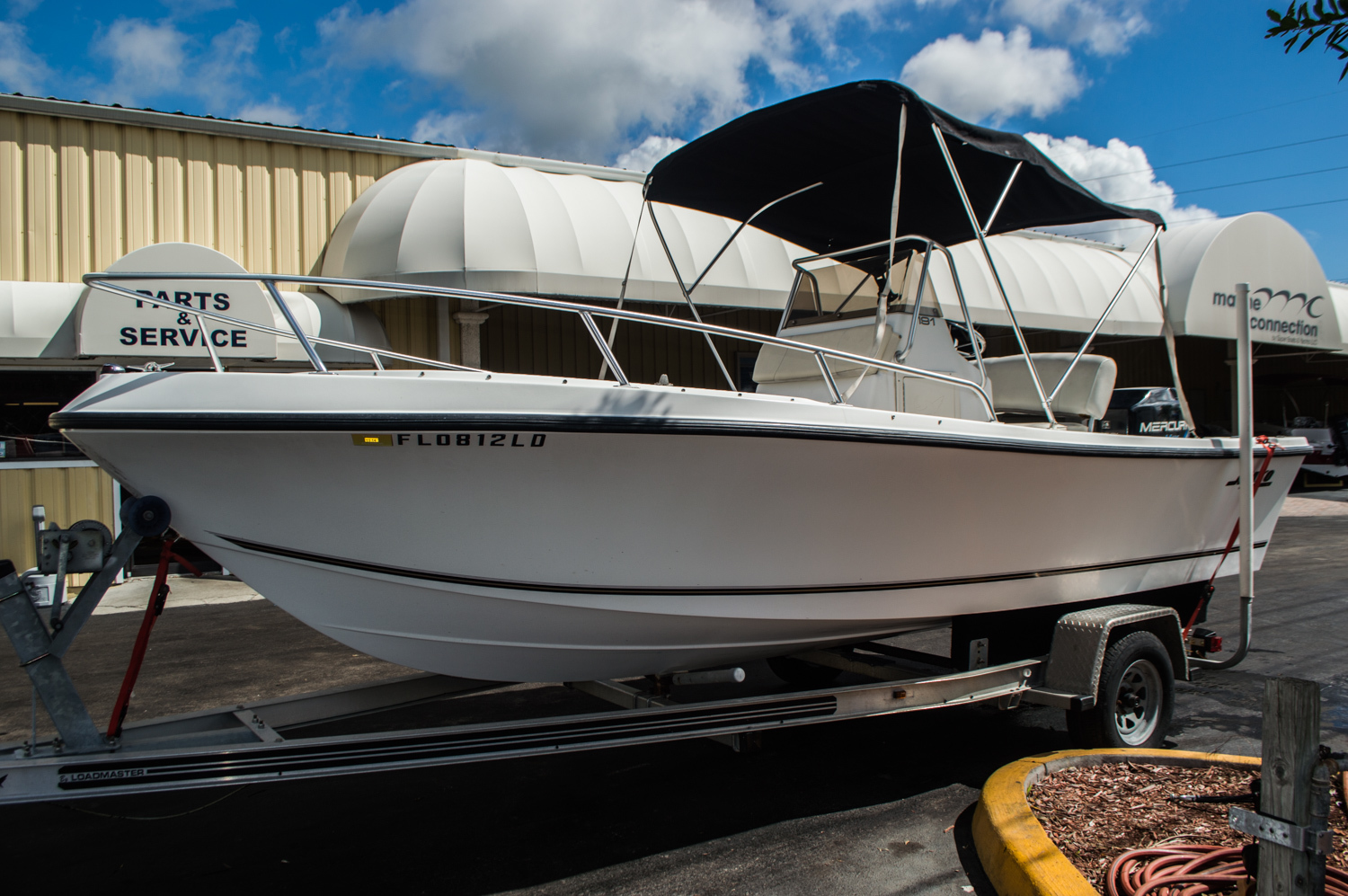 Thumbnail 2 for Used 2000 Mako 191 Center Console boat for sale in West Palm Beach, FL