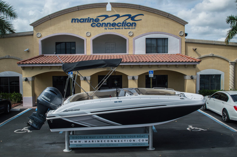 New 2016 Hurricane SunDeck Sport SS 188 OB boat for sale in West Palm Beach, FL