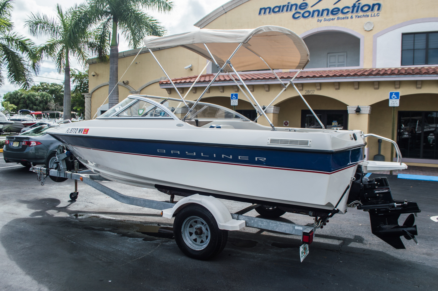 Thumbnail 1 for Used 2005 Bayliner 195 Classic boat for sale in West Palm Beach, FL