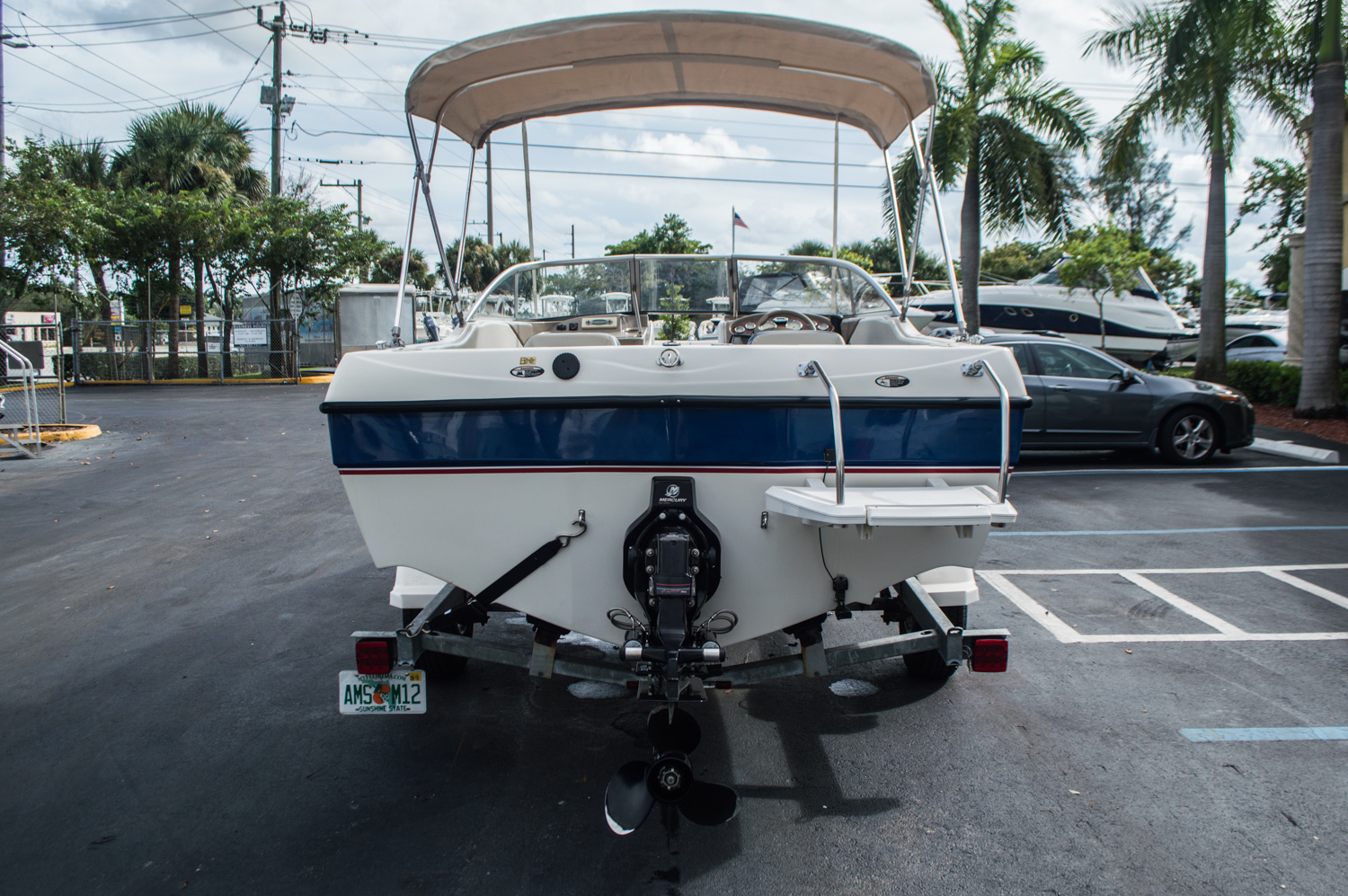 Thumbnail 2 for Used 2005 Bayliner 195 Classic boat for sale in West Palm Beach, FL