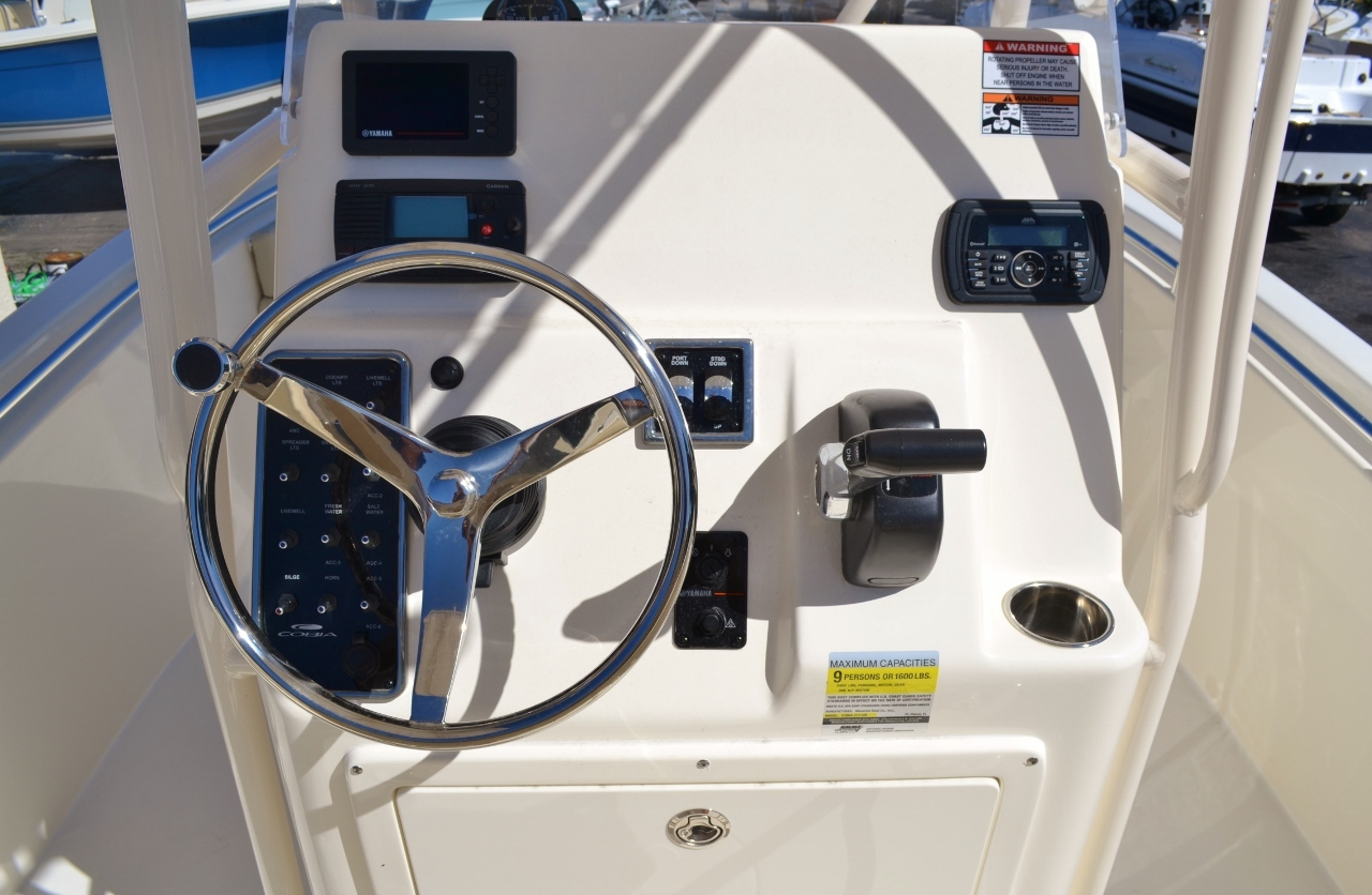 Thumbnail 10 for New 2016 Cobia 217 Center Console boat for sale in Vero Beach, FL