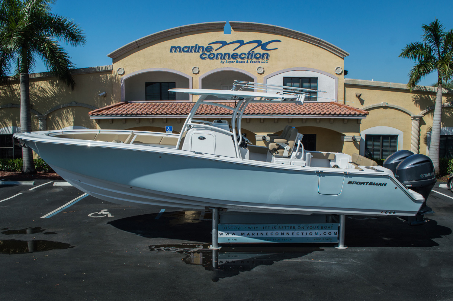 New 2016 sportsman open 312 center console boat for sale for Yamaha dealer miami