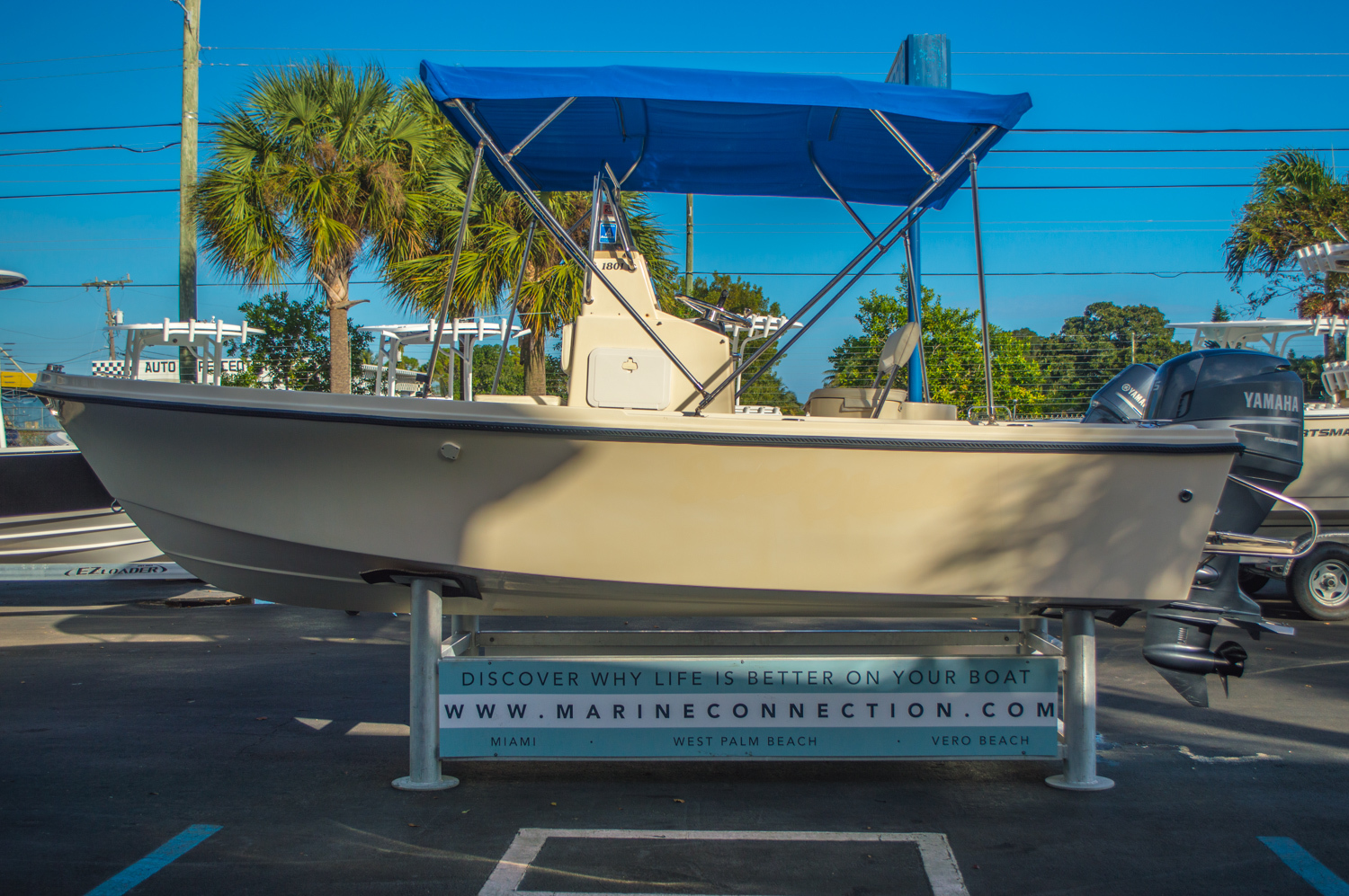 Thumbnail 5 for Used 2008 PARKER 1801 Center Console boat for sale in West Palm Beach, FL