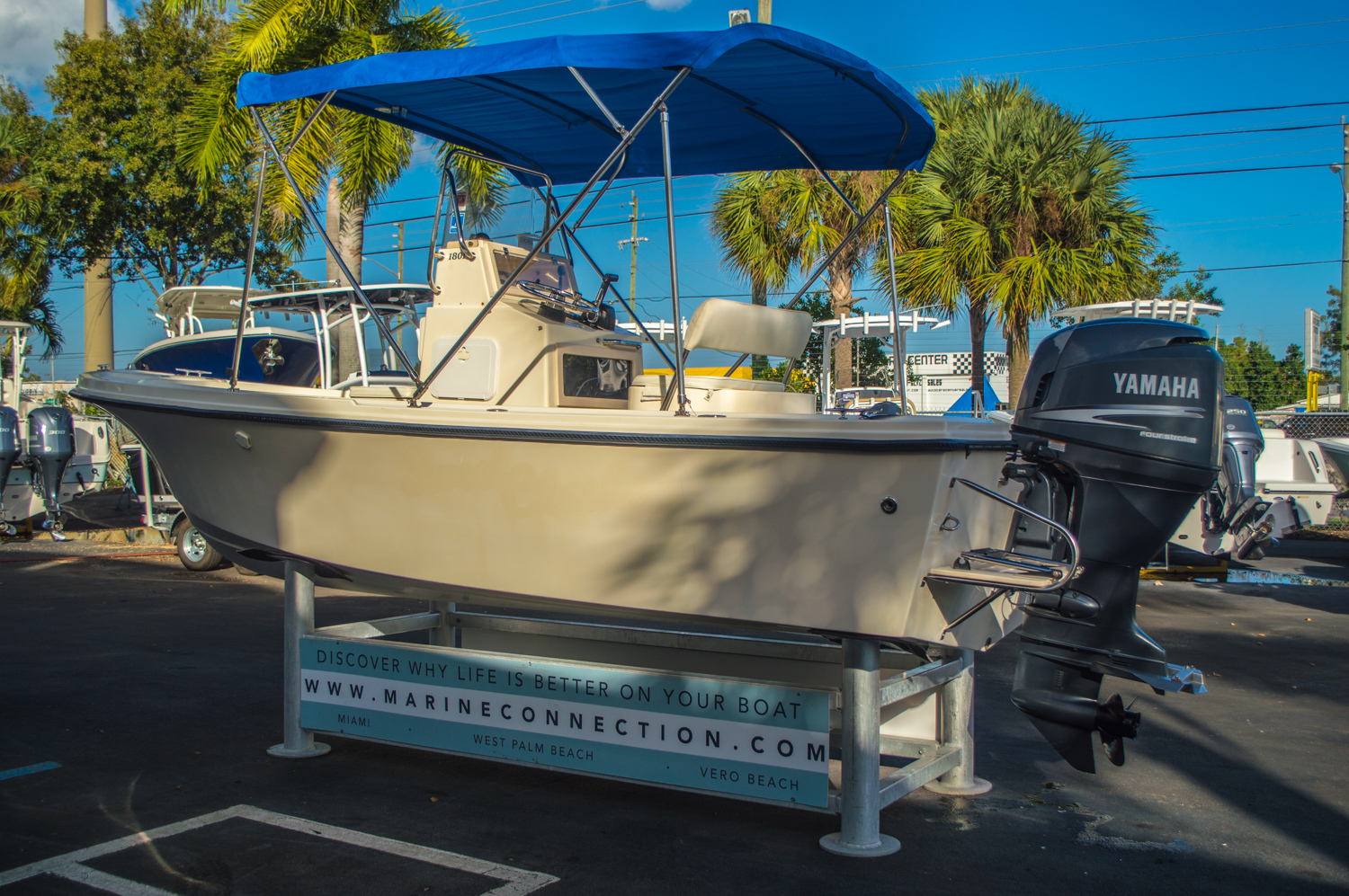 Thumbnail 6 for Used 2008 PARKER 1801 Center Console boat for sale in West Palm Beach, FL