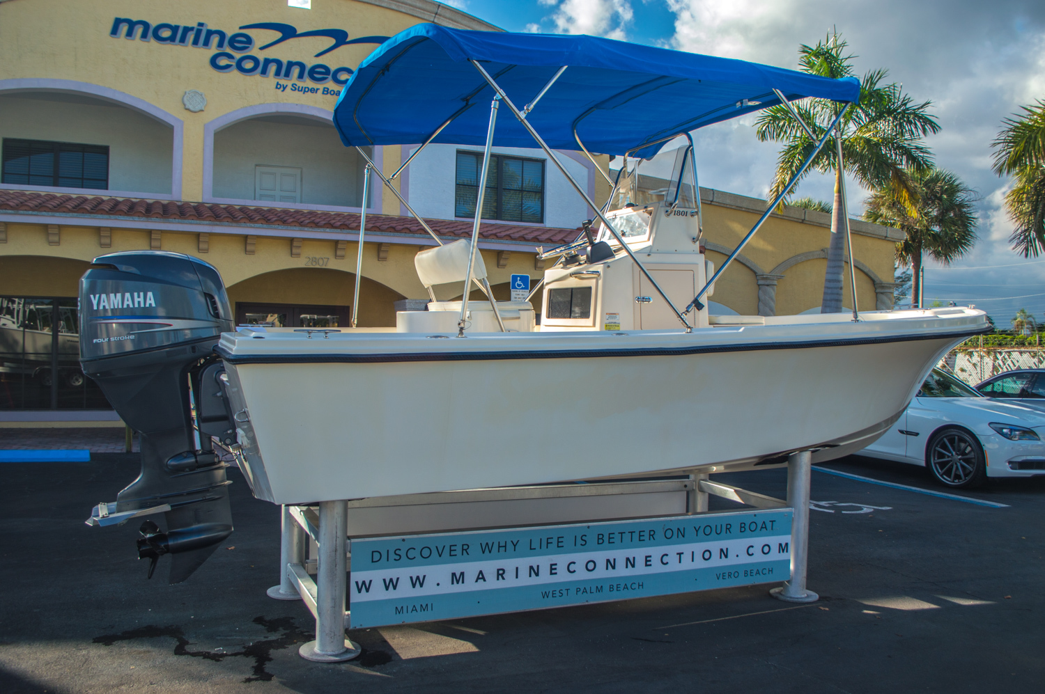 Thumbnail 8 for Used 2008 PARKER 1801 Center Console boat for sale in West Palm Beach, FL