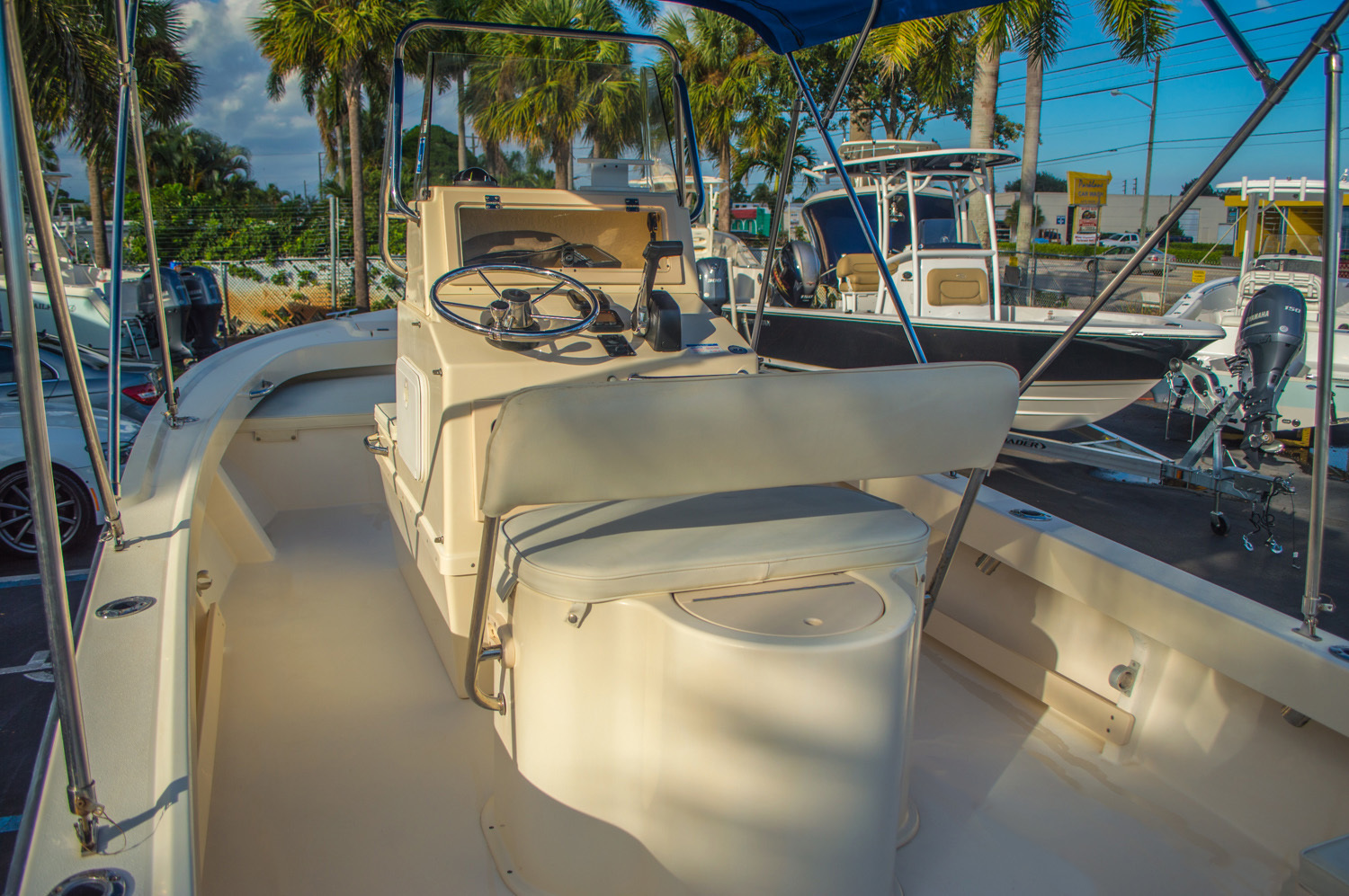 Thumbnail 14 for Used 2008 PARKER 1801 Center Console boat for sale in West Palm Beach, FL