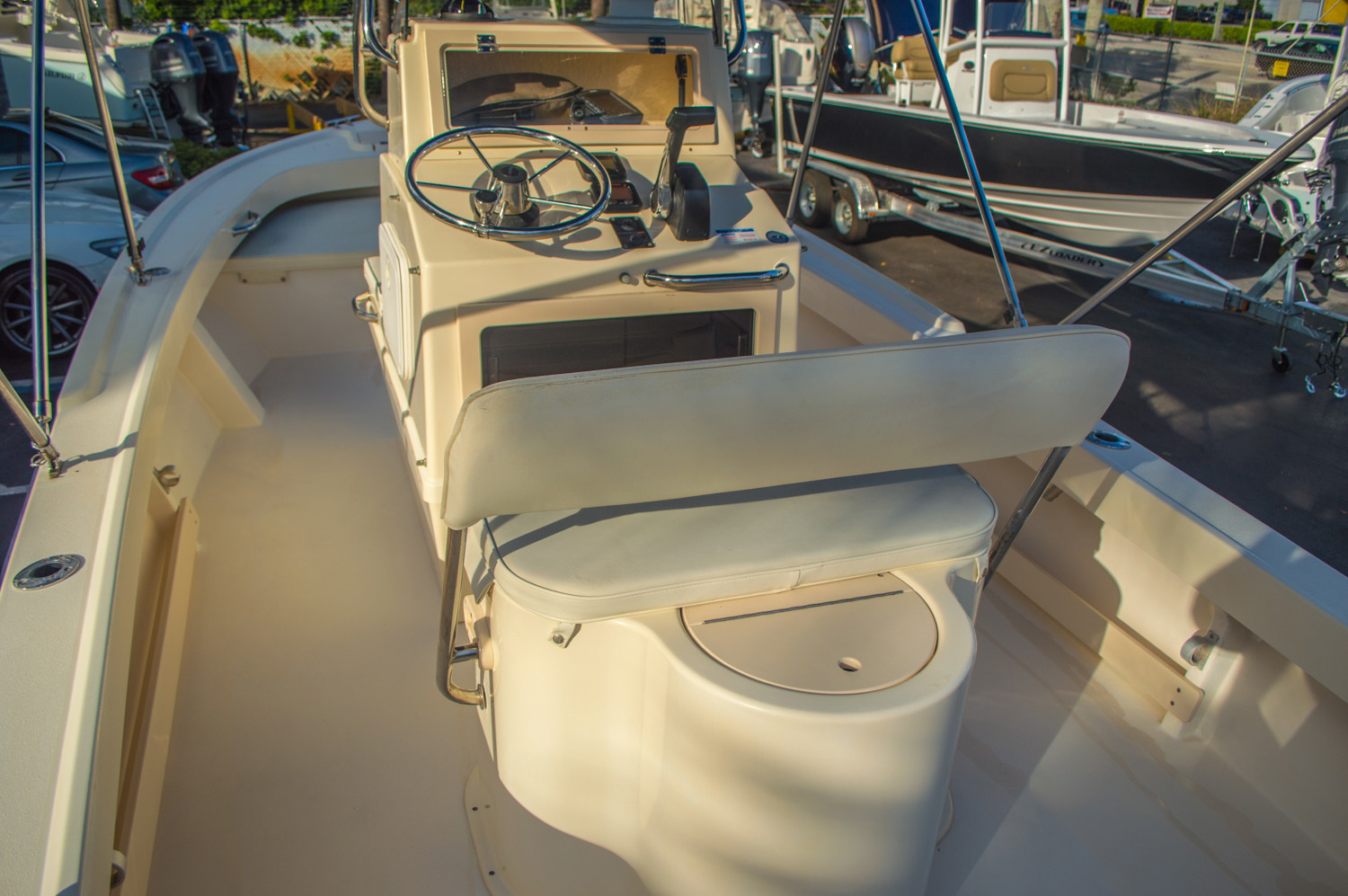 Thumbnail 16 for Used 2008 PARKER 1801 Center Console boat for sale in West Palm Beach, FL