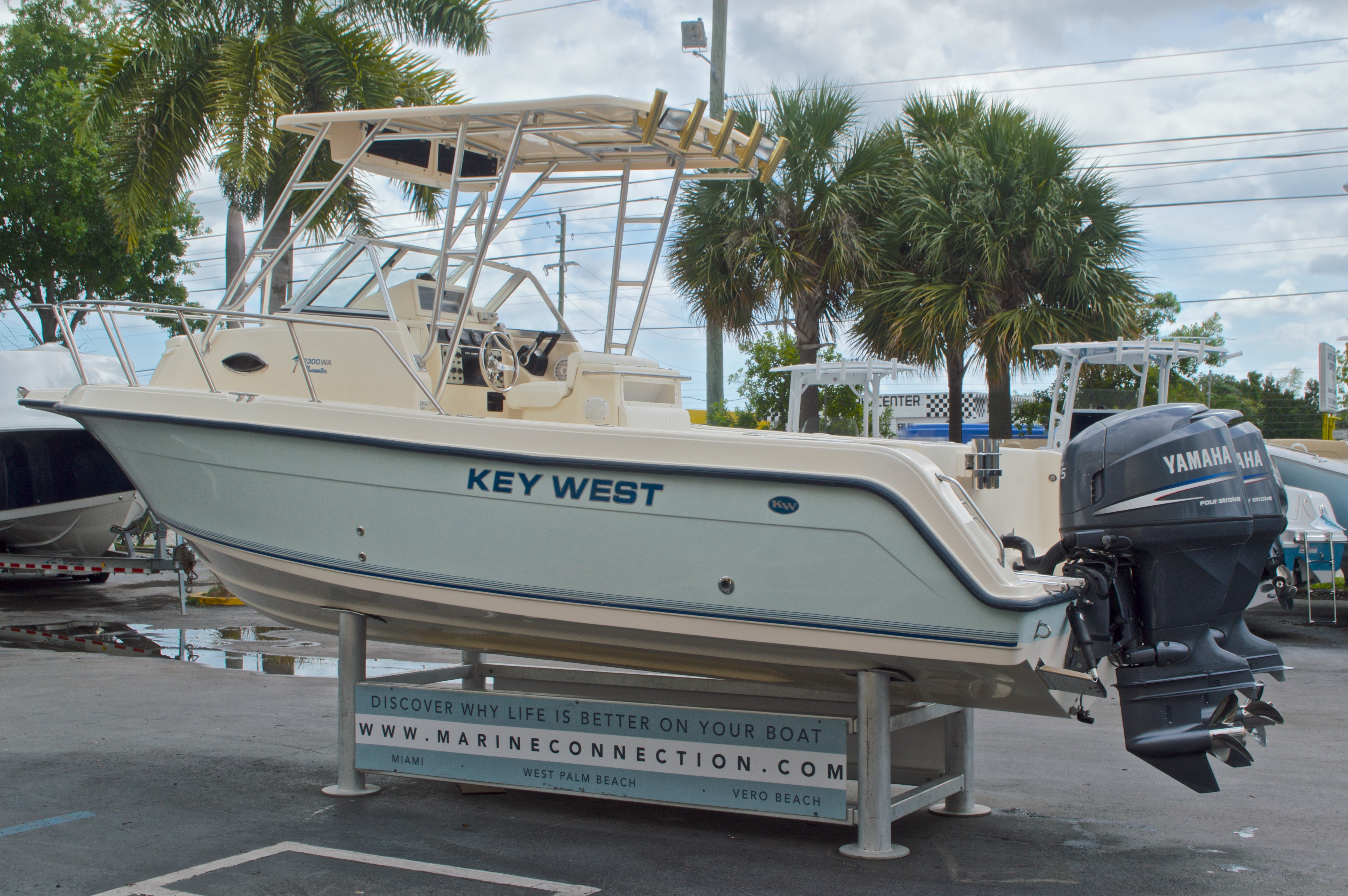 Thumbnail 6 for Used 2005 Key West 2300 WA Walkaround boat for sale in West Palm Beach, FL