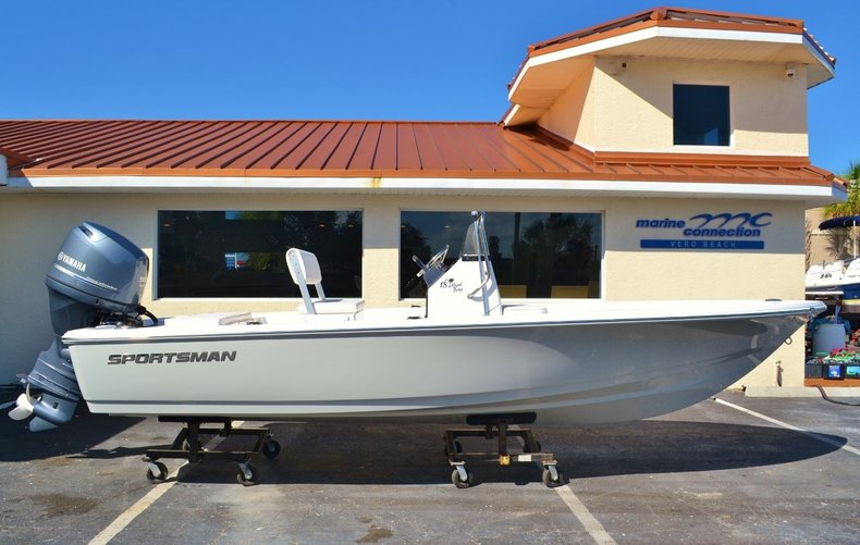 New 2016 Sportsman 18 Island Bay boat for sale in Vero Beach, FL