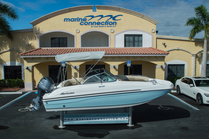 New 2016 Hurricane SunDeck SD 187 OB boat for sale in West Palm Beach, FL