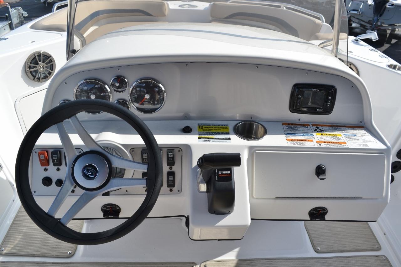 Thumbnail 11 for New 2016 Hurricane Sundeck Sport SS 231 OB boat for sale in Vero Beach, FL