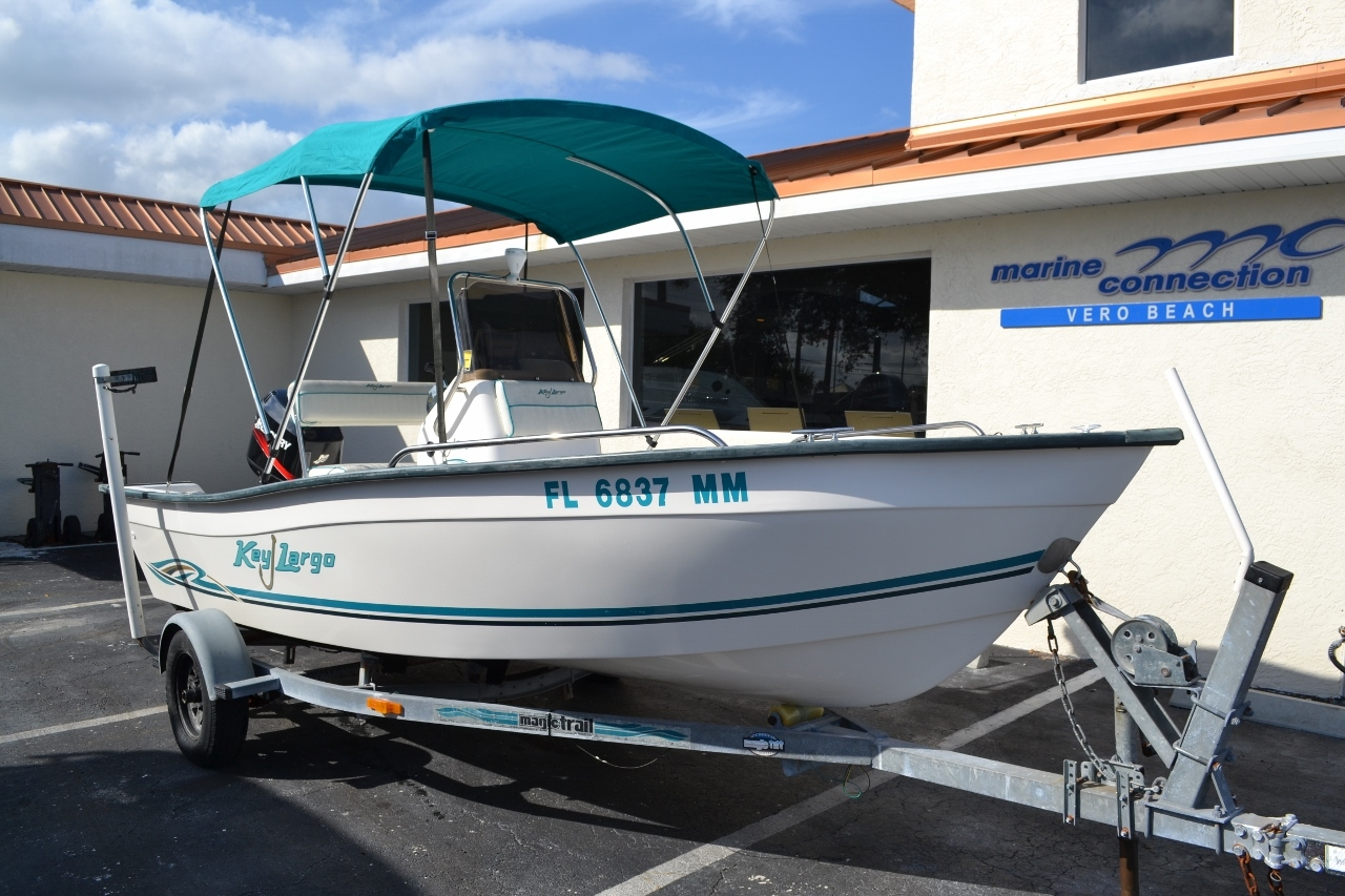 Thumbnail 1 for Used 2004 Key Largo 160 cc boat for sale in Vero Beach, FL