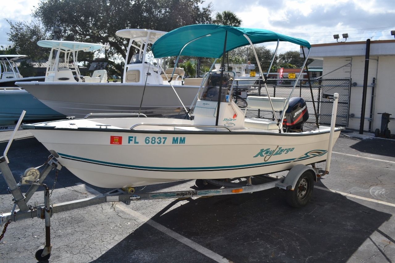 Thumbnail 3 for Used 2004 Key Largo 160 cc boat for sale in Vero Beach, FL
