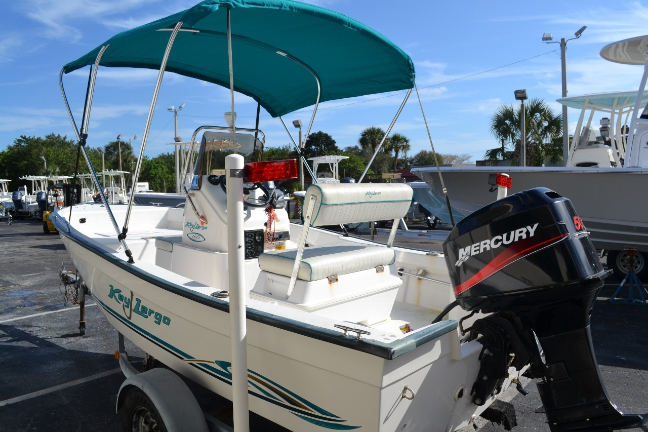 Thumbnail 4 for Used 2004 Key Largo 160 cc boat for sale in Vero Beach, FL