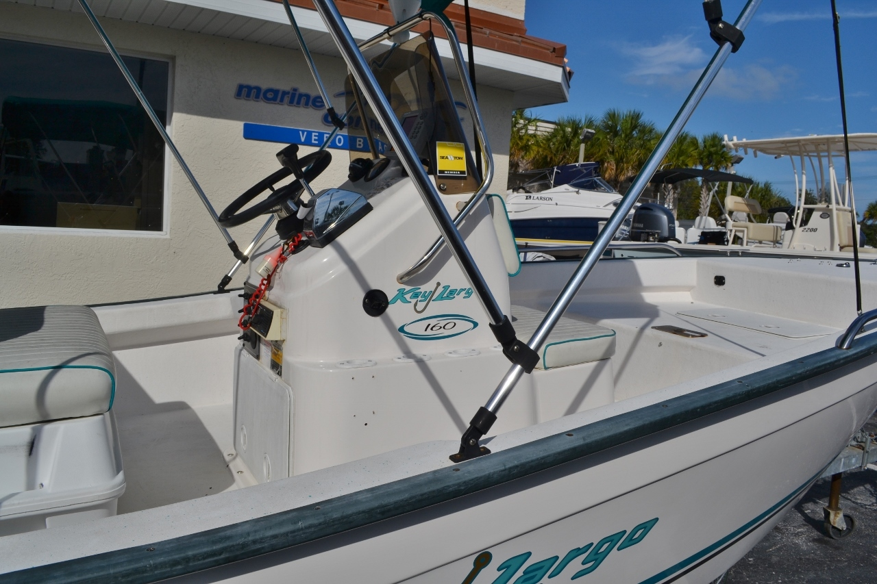 Thumbnail 9 for Used 2004 Key Largo 160 cc boat for sale in Vero Beach, FL