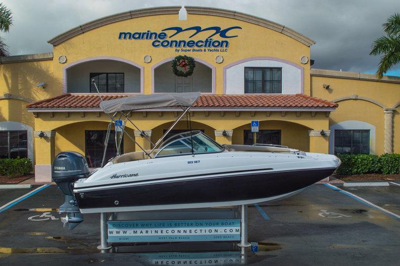 New 2016 Hurricane SunDeck SD 187 OB boat for sale in Vero Beach, FL