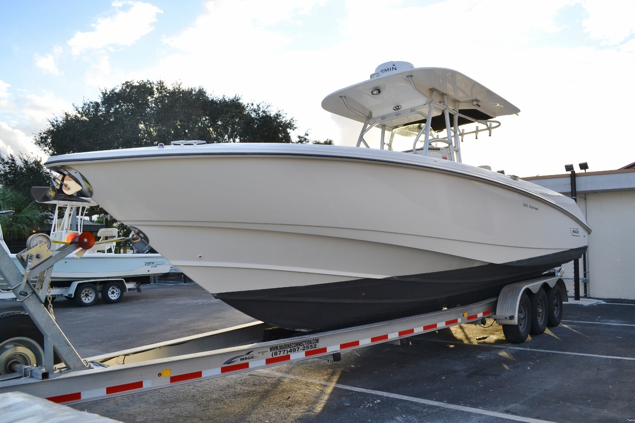 Thumbnail 2 for Used 2007 Boston Whaler 320 Outrage boat for sale in Vero Beach, FL
