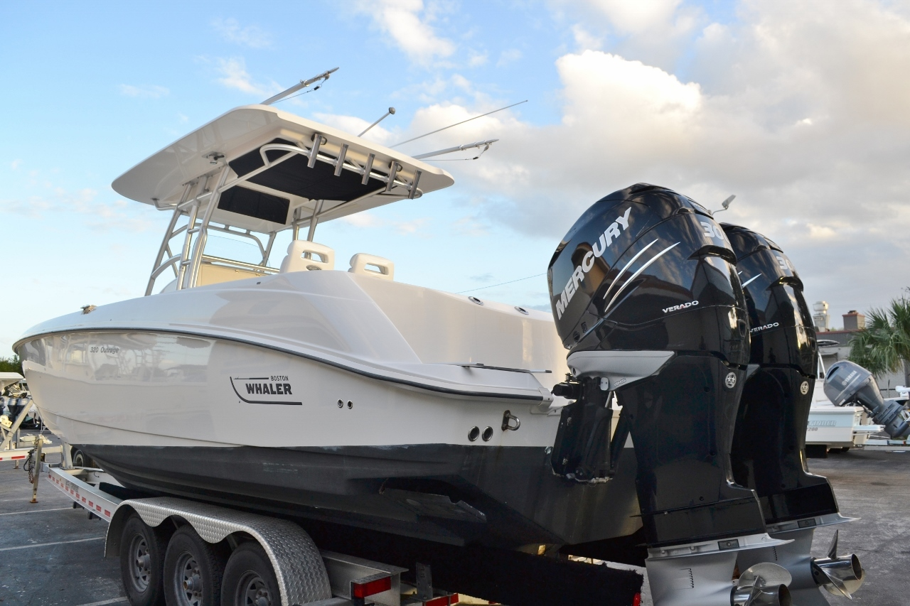 Thumbnail 5 for Used 2007 Boston Whaler 320 Outrage boat for sale in Vero Beach, FL