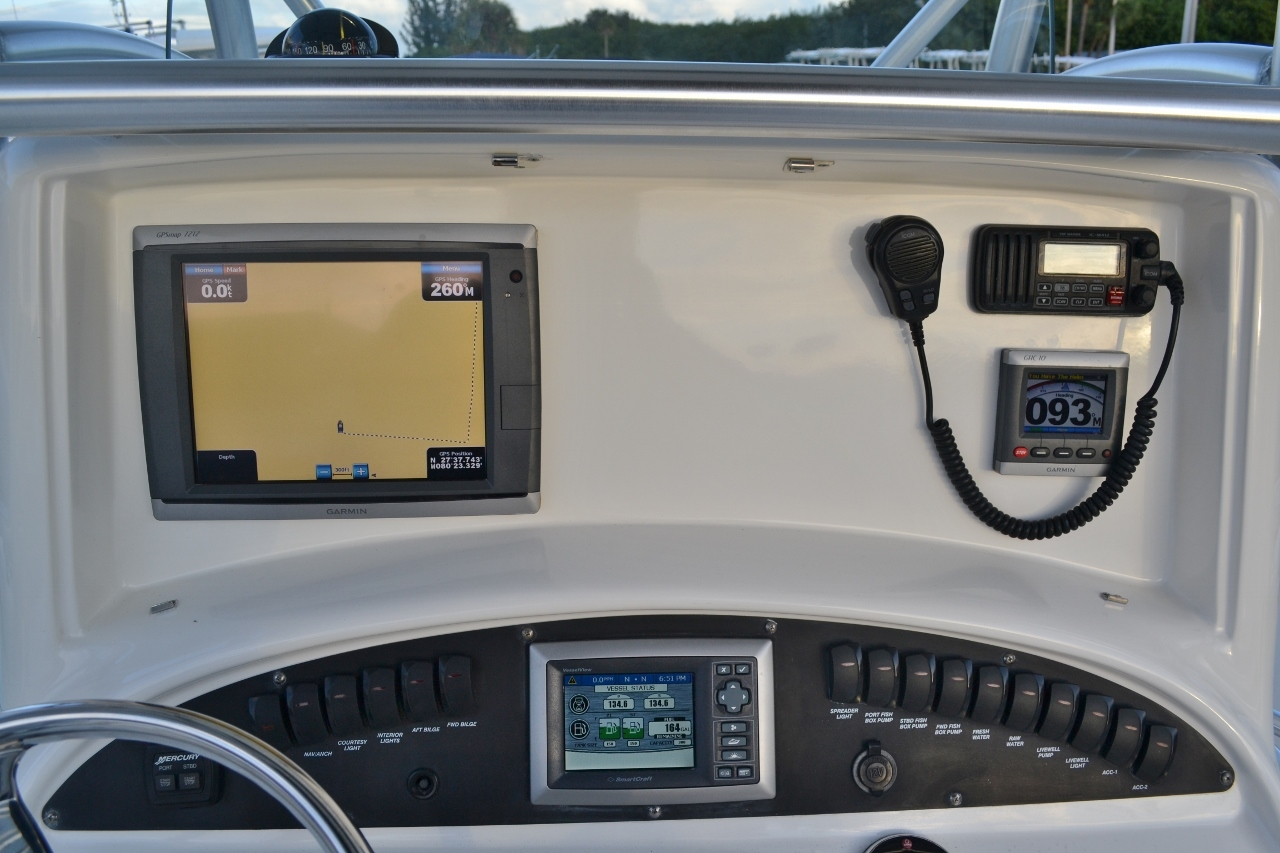 Thumbnail 14 for Used 2007 Boston Whaler 320 Outrage boat for sale in Vero Beach, FL
