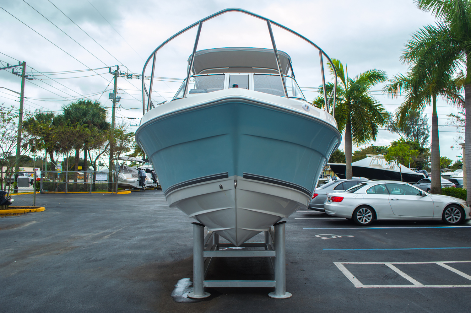 Thumbnail 2 for Used 2004 Cobia 210 WAC Walkaround boat for sale in West Palm Beach, FL
