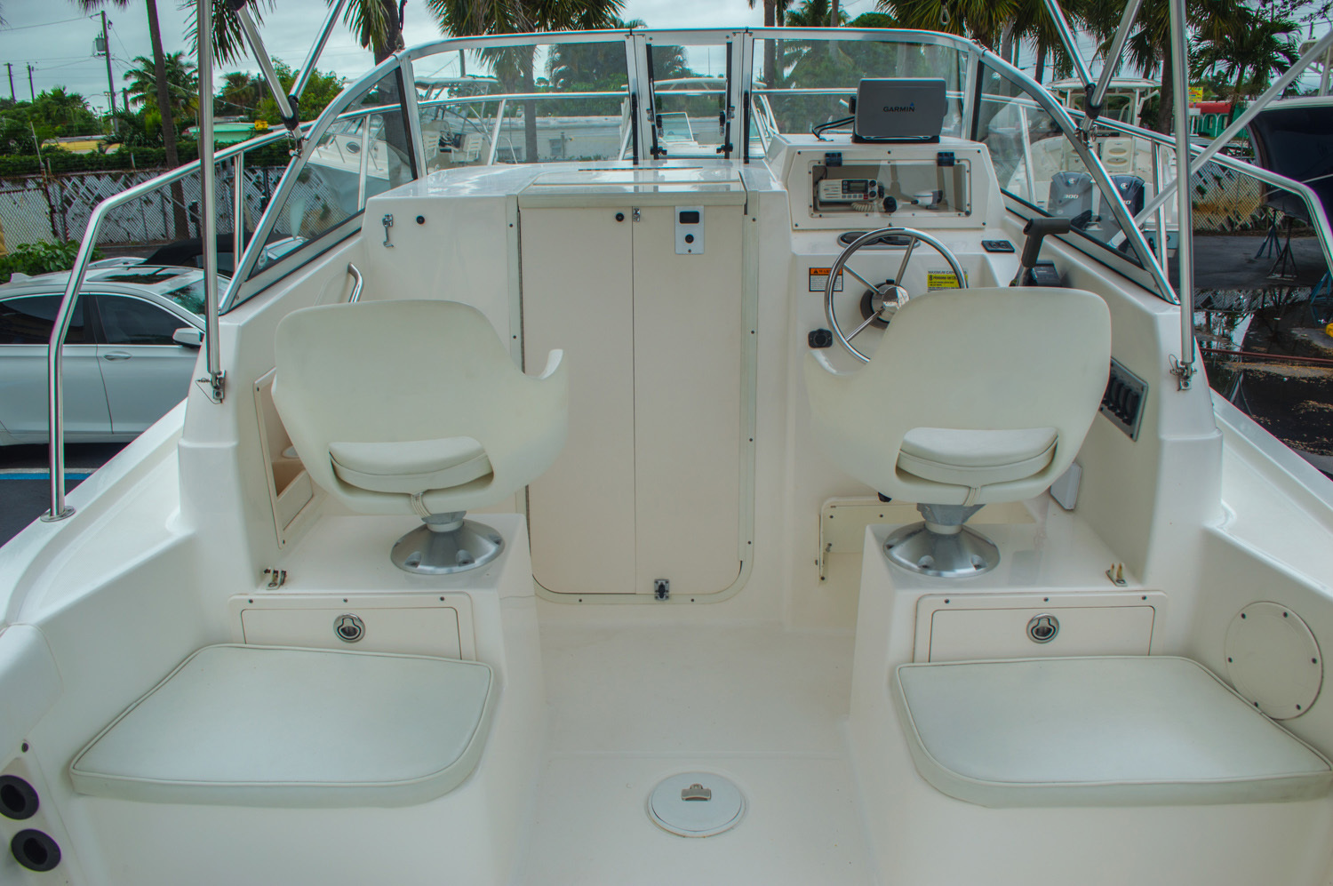 Thumbnail 18 for Used 2004 Cobia 210 WAC Walkaround boat for sale in West Palm Beach, FL