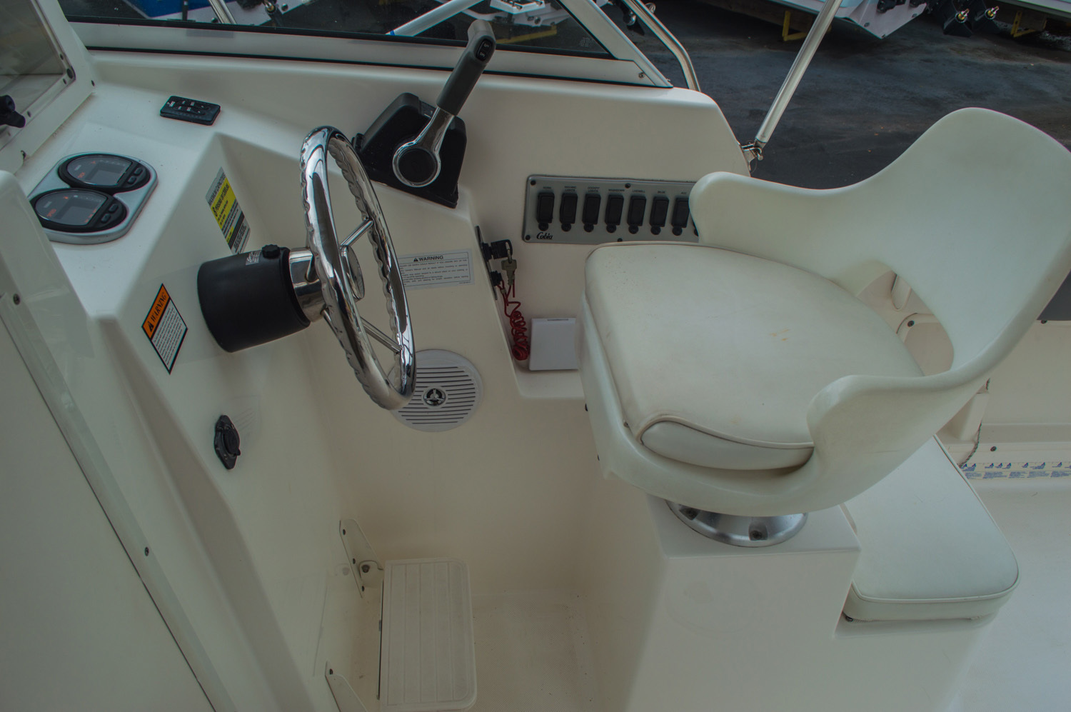 Thumbnail 34 for Used 2004 Cobia 210 WAC Walkaround boat for sale in West Palm Beach, FL
