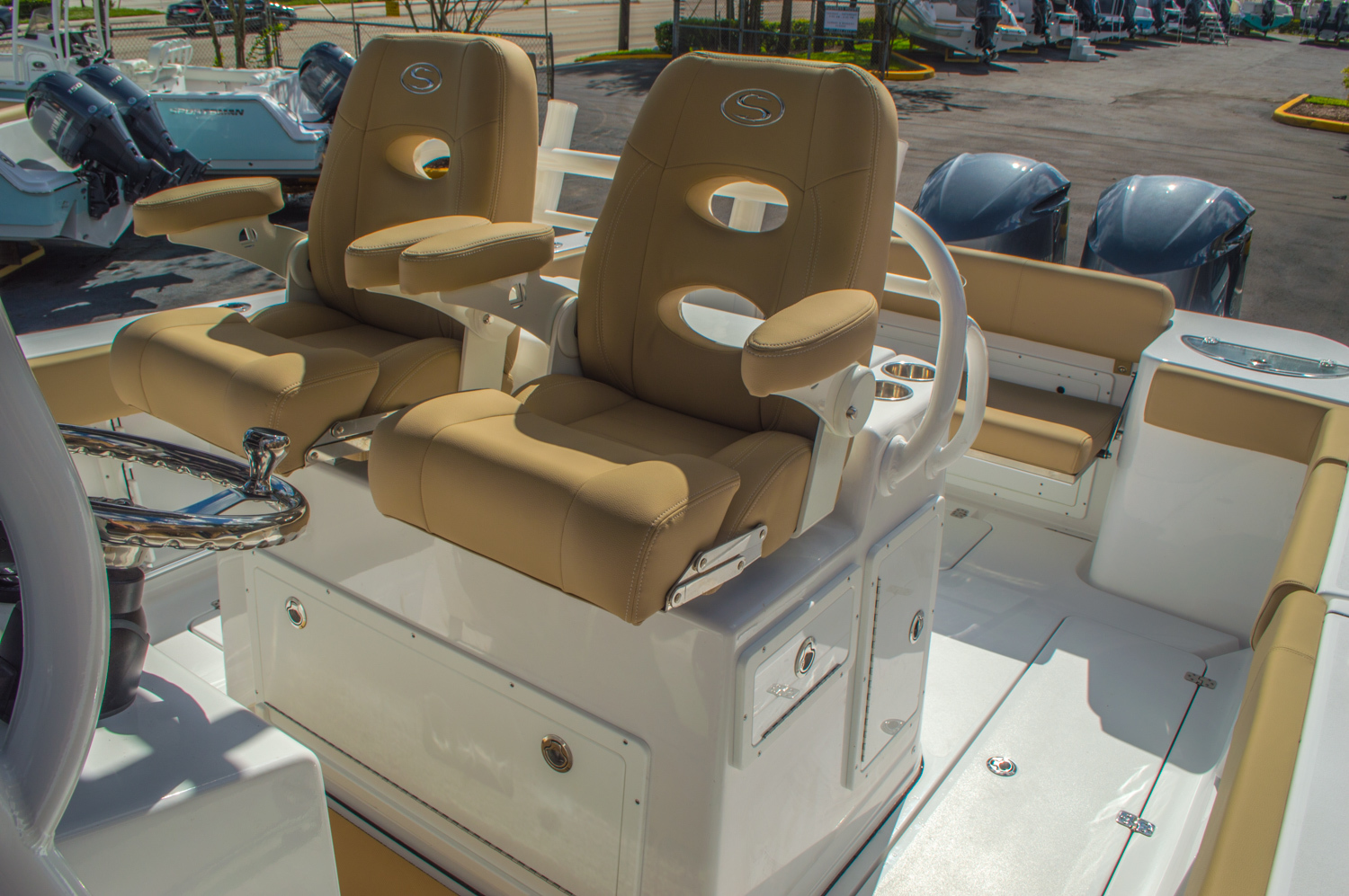 Thumbnail 57 for New 2016 Sportsman Open 312 Center Console boat for sale in Miami, FL