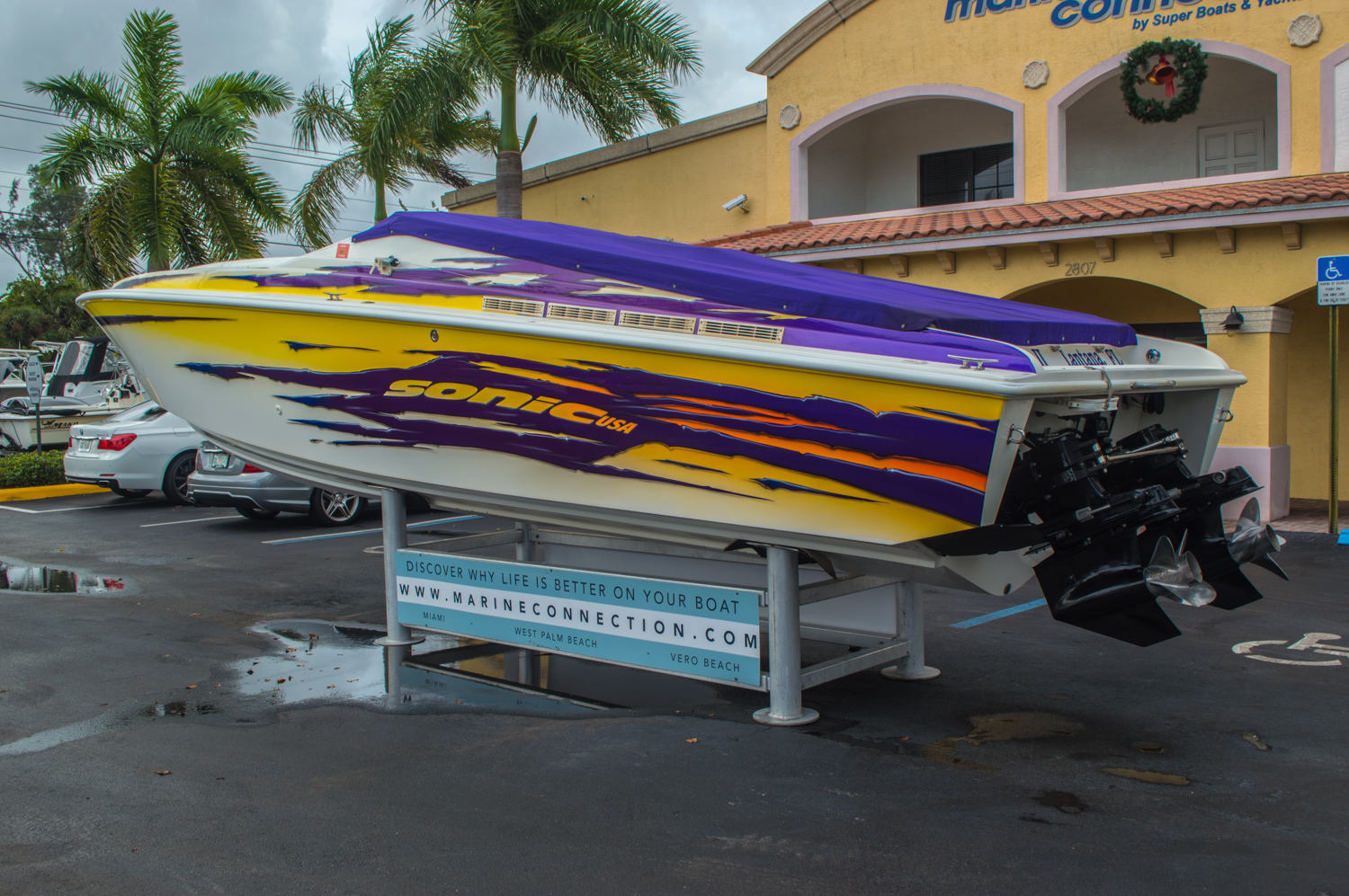 Thumbnail 10 for Used 2001 Sonic 31 SS boat for sale in West Palm Beach, FL