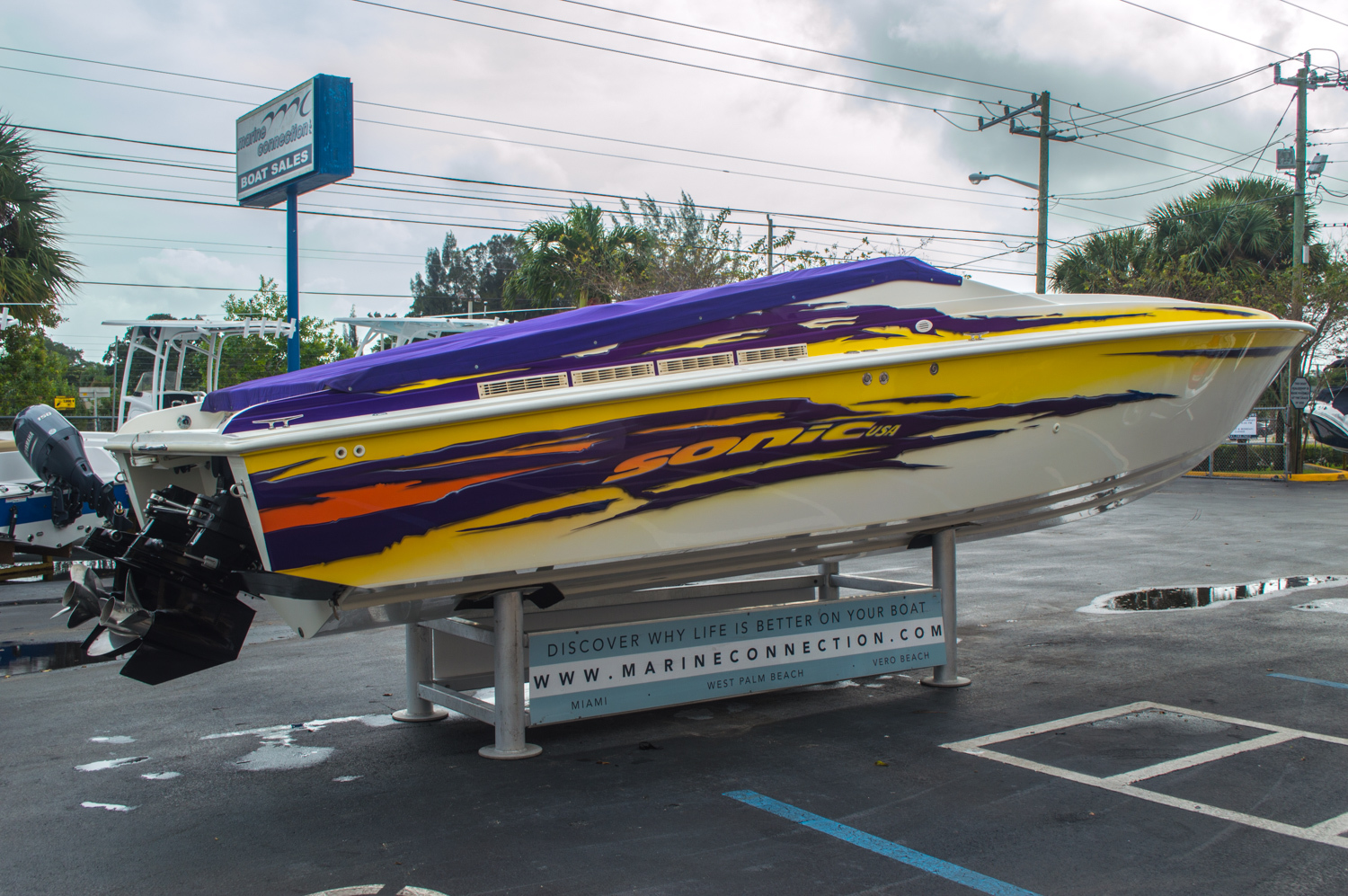 Thumbnail 11 for Used 2001 Sonic 31 SS boat for sale in West Palm Beach, FL