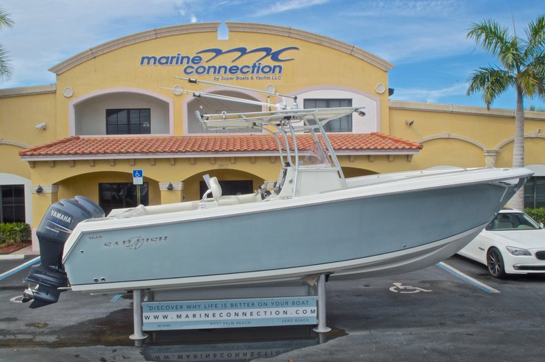 Used 2008 Sailfish 2660 CC Center Console boat for sale in West Palm Beach, FL