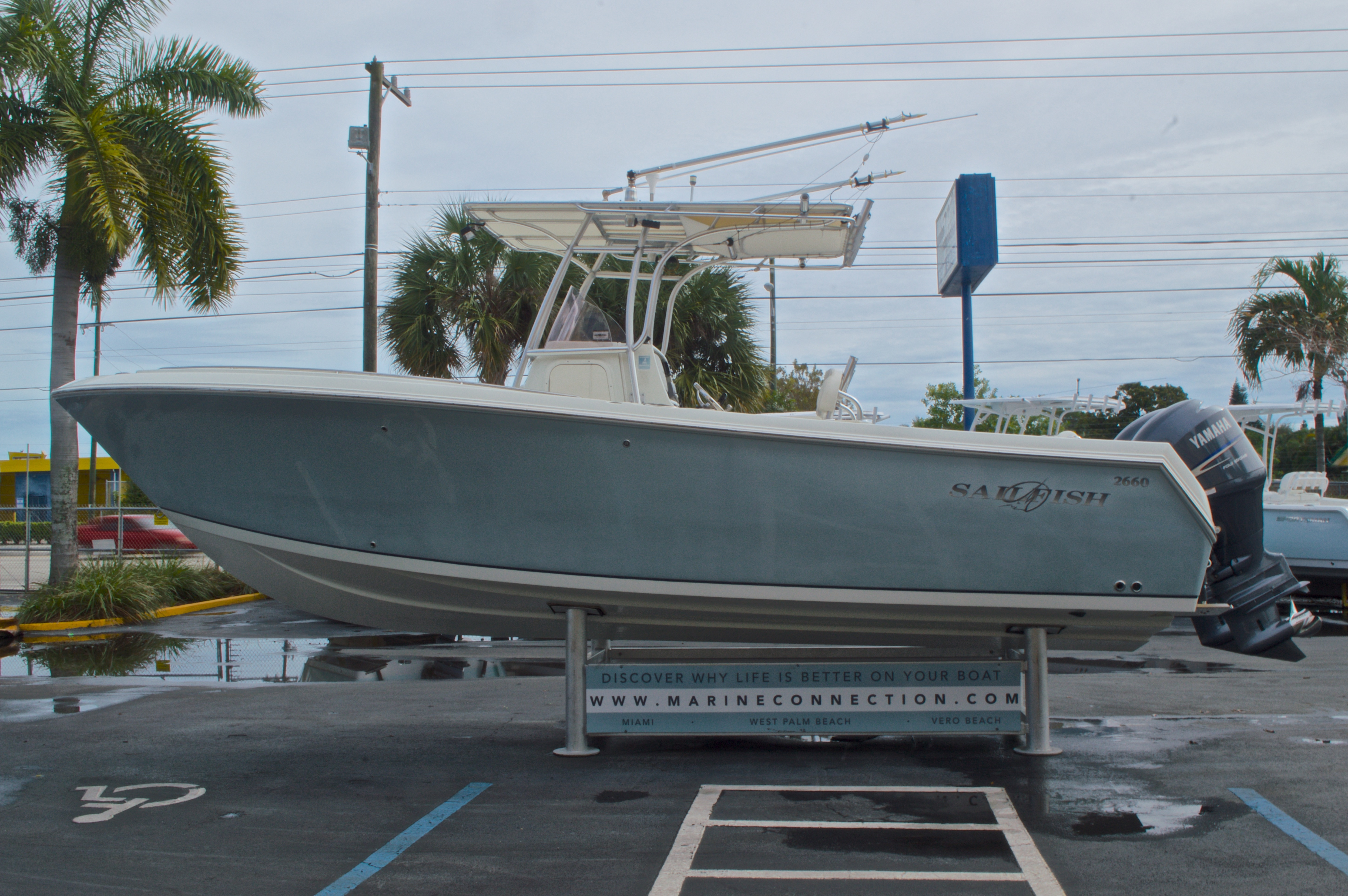 Thumbnail 5 for Used 2008 Sailfish 2660 CC Center Console boat for sale in West Palm Beach, FL
