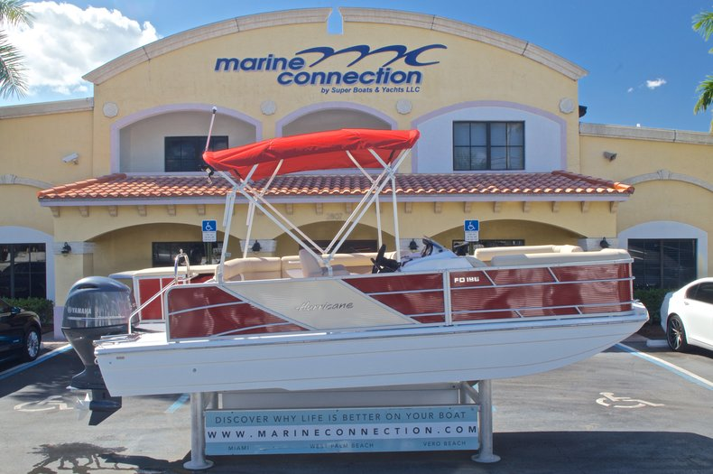 New 2016 Hurricane Fundeck FD 196 OB boat for sale in Vero Beach, FL