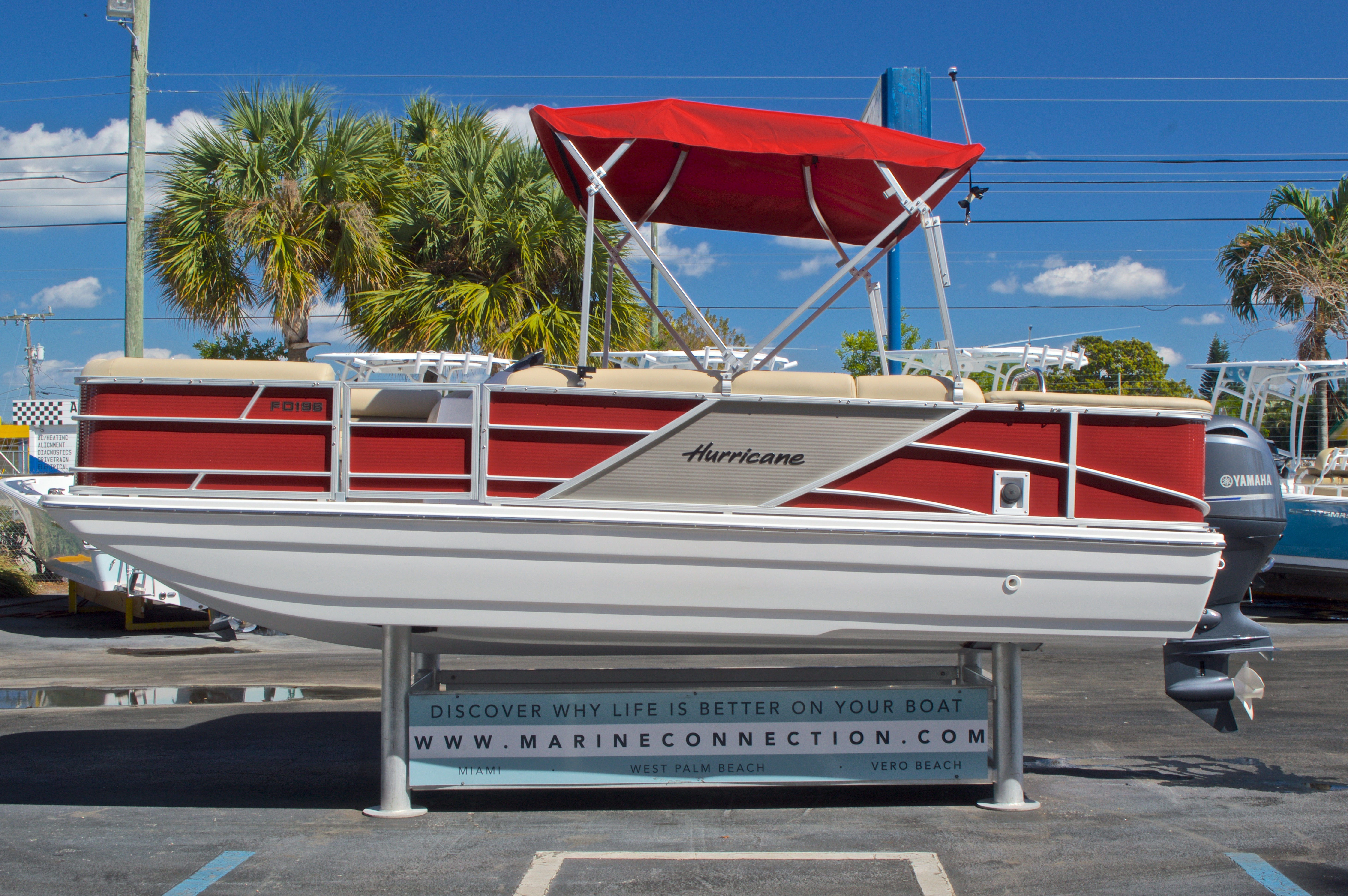 Thumbnail 5 for New 2016 Hurricane Fundeck FD 196 OB boat for sale in Vero Beach, FL