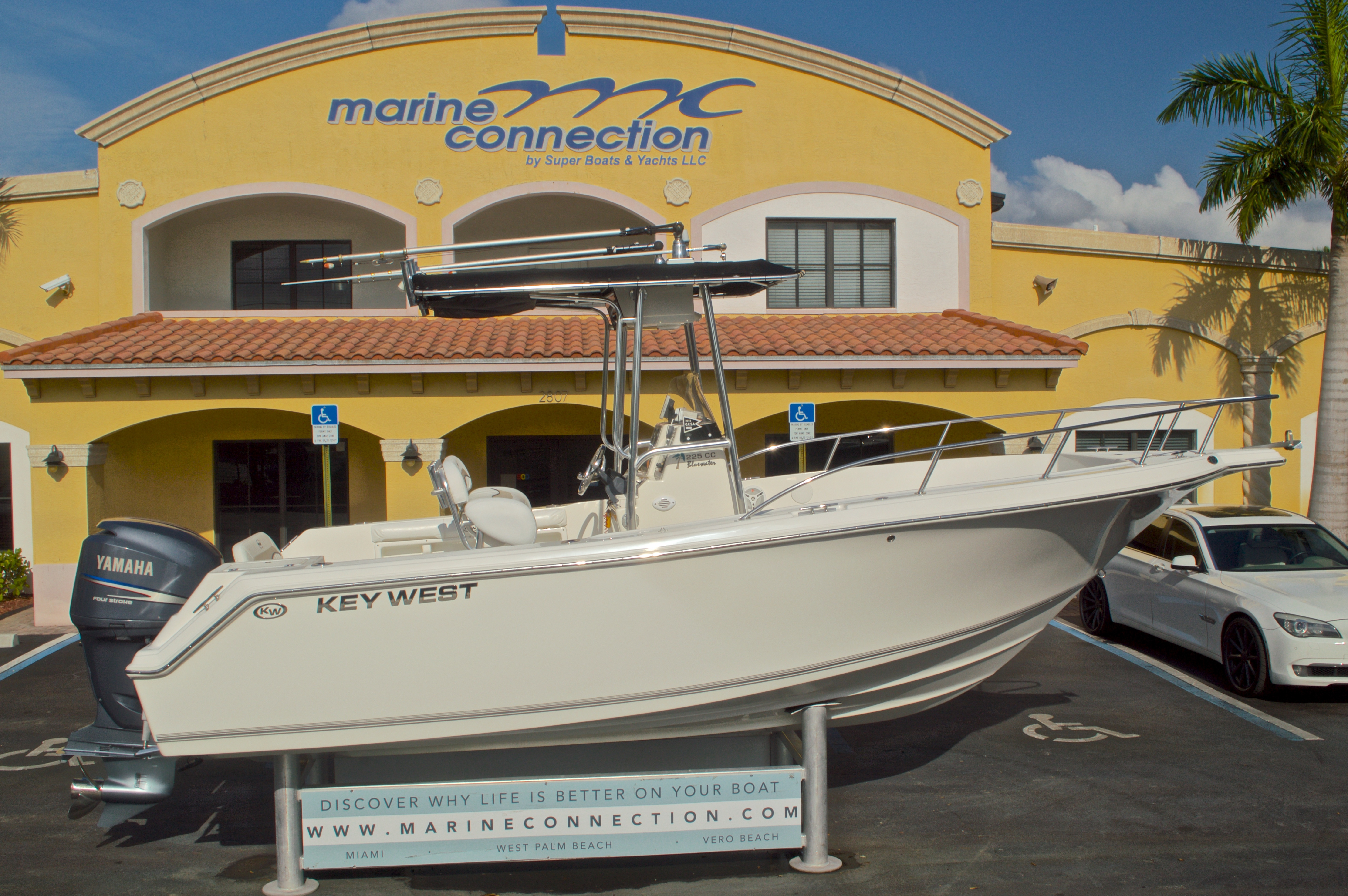 Used 2009 Key West 225 Center Console boat for sale in West Palm Beach, FL