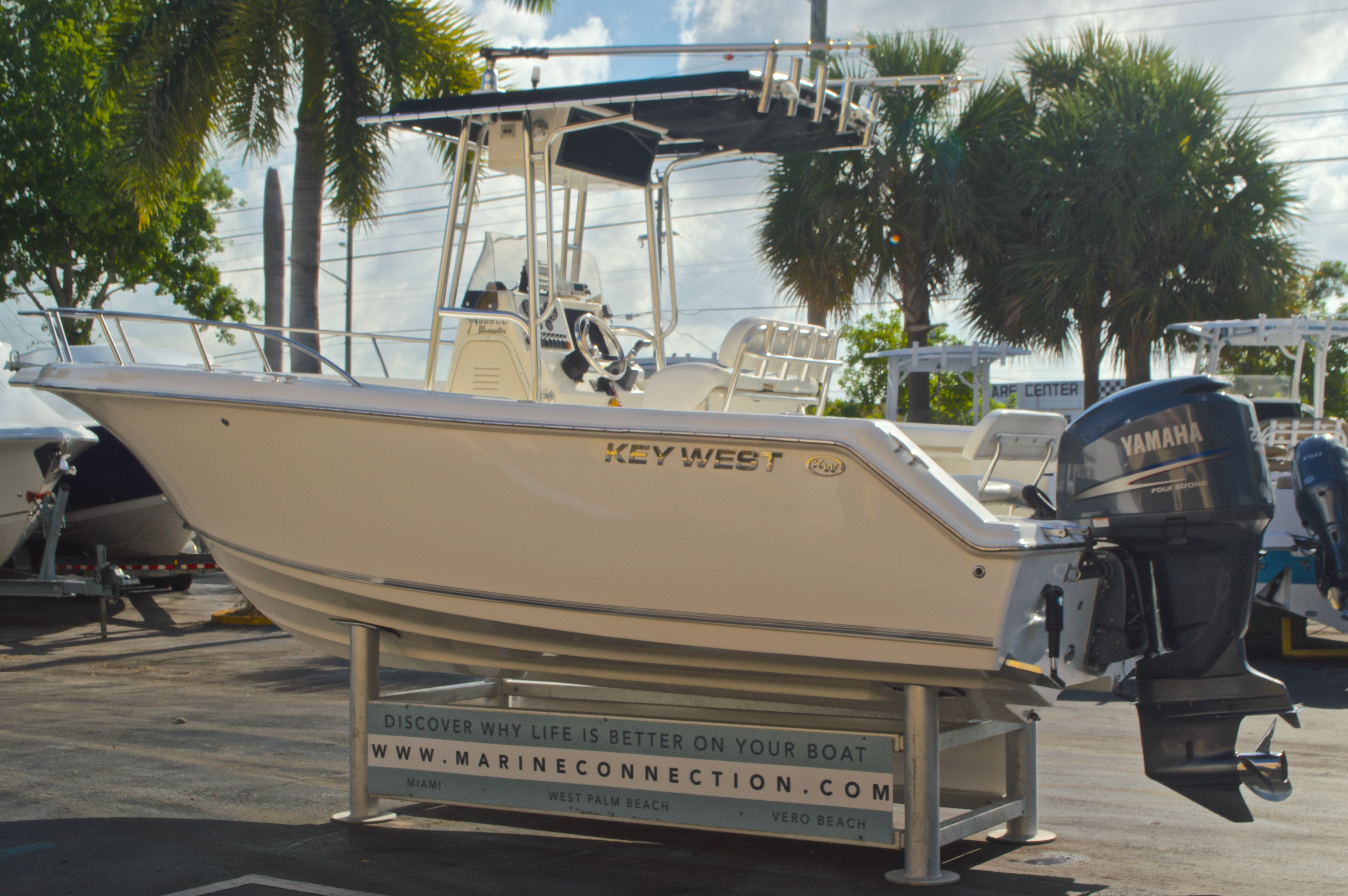 Thumbnail 6 for Used 2009 Key West 225 Center Console boat for sale in West Palm Beach, FL