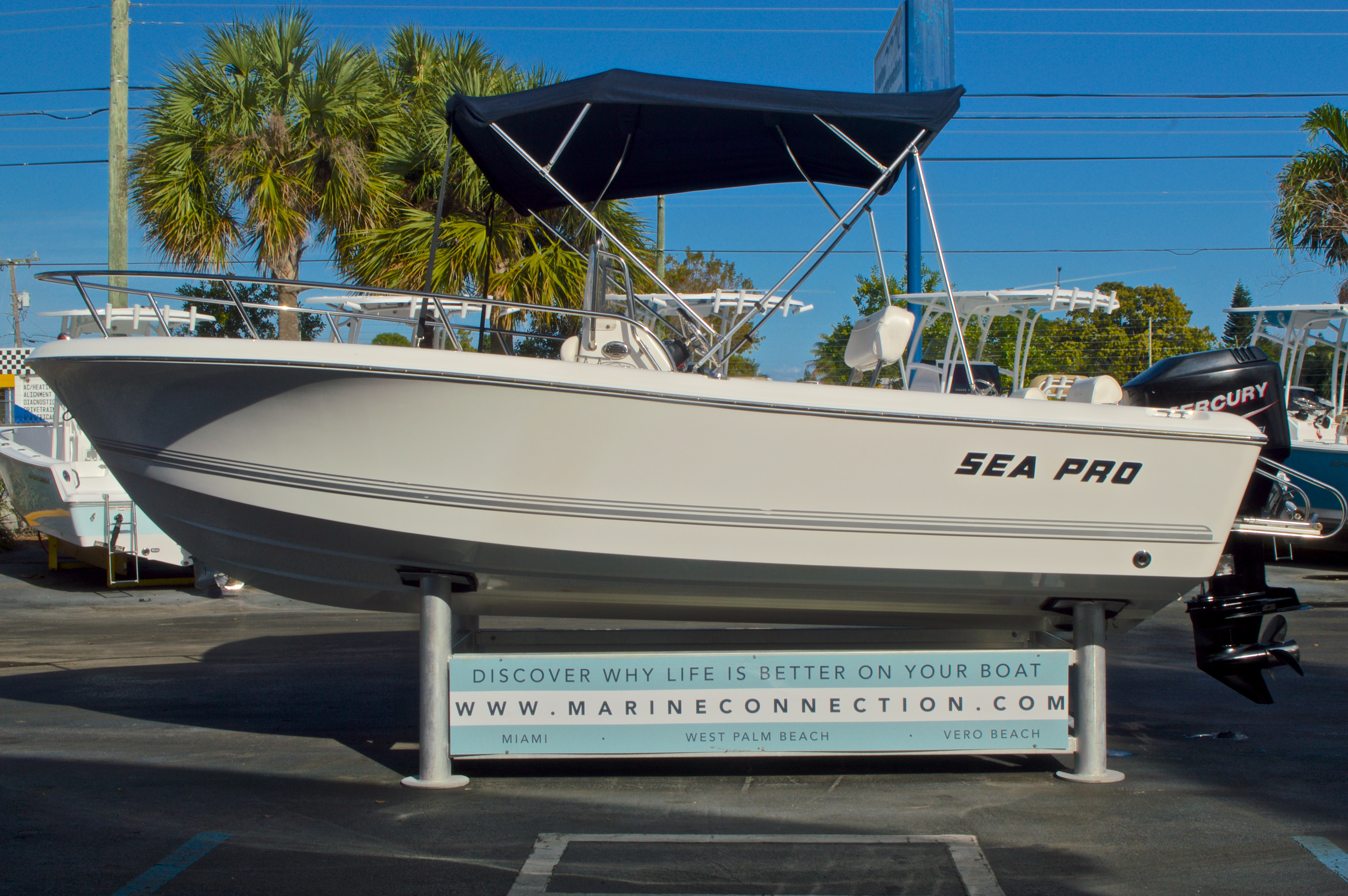 Thumbnail 4 for Used 2007 Sea Pro 186 Center Console boat for sale in West Palm Beach, FL