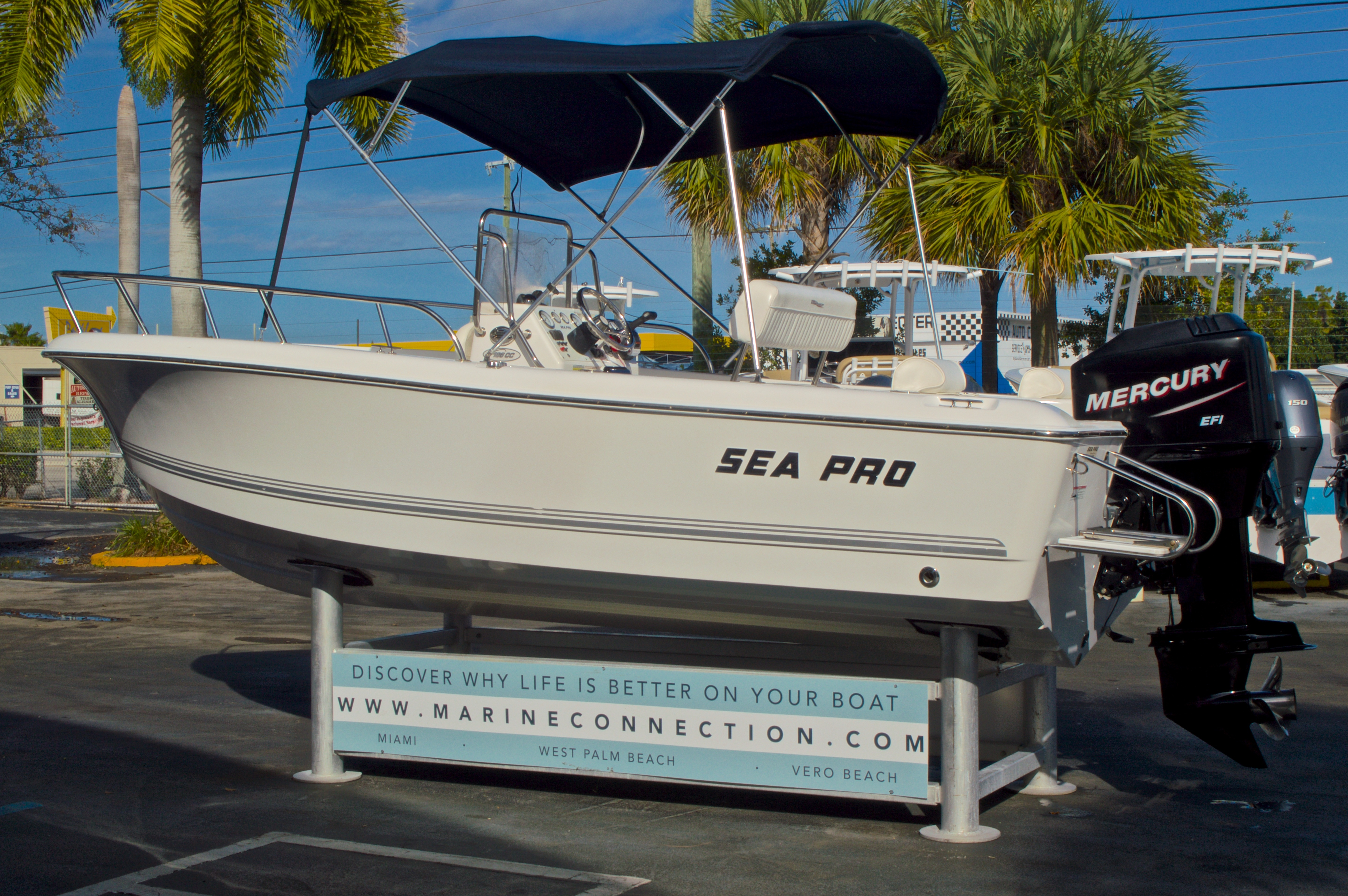 Thumbnail 5 for Used 2007 Sea Pro 186 Center Console boat for sale in West Palm Beach, FL