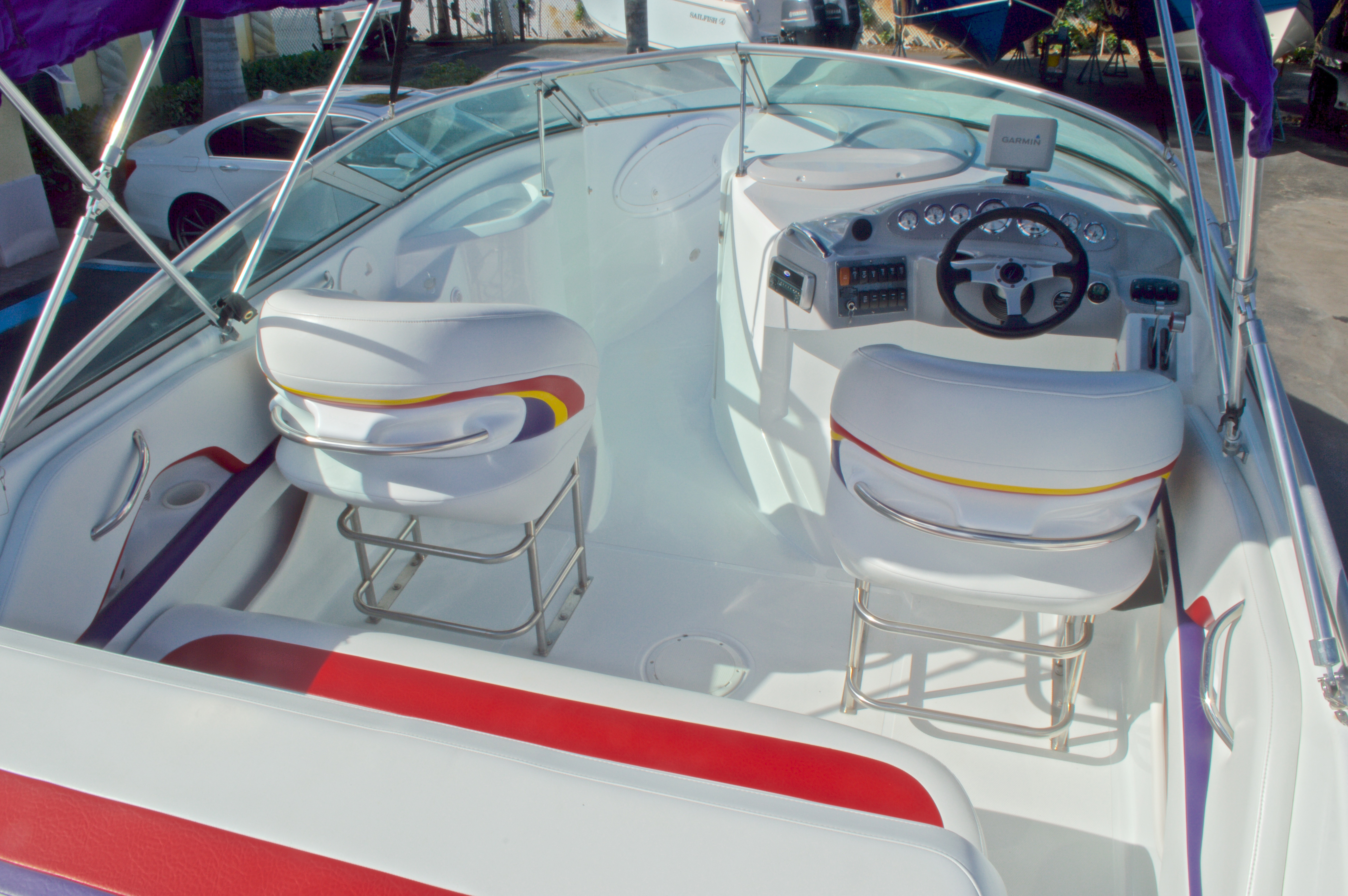 Thumbnail 25 for Used 2003 Baja 242 Islander boat for sale in West Palm Beach, FL