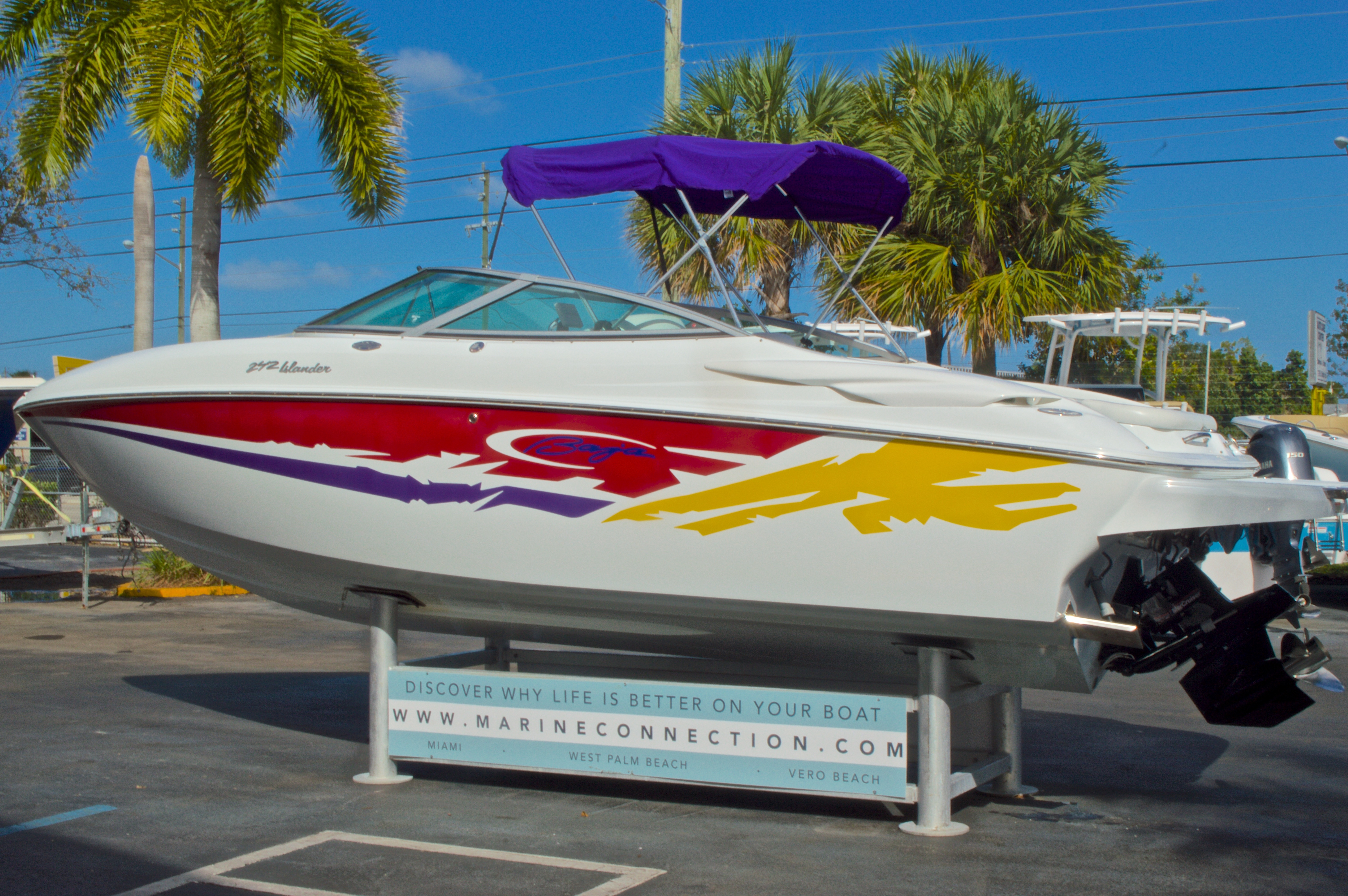 Thumbnail 6 for Used 2003 Baja 242 Islander boat for sale in West Palm Beach, FL