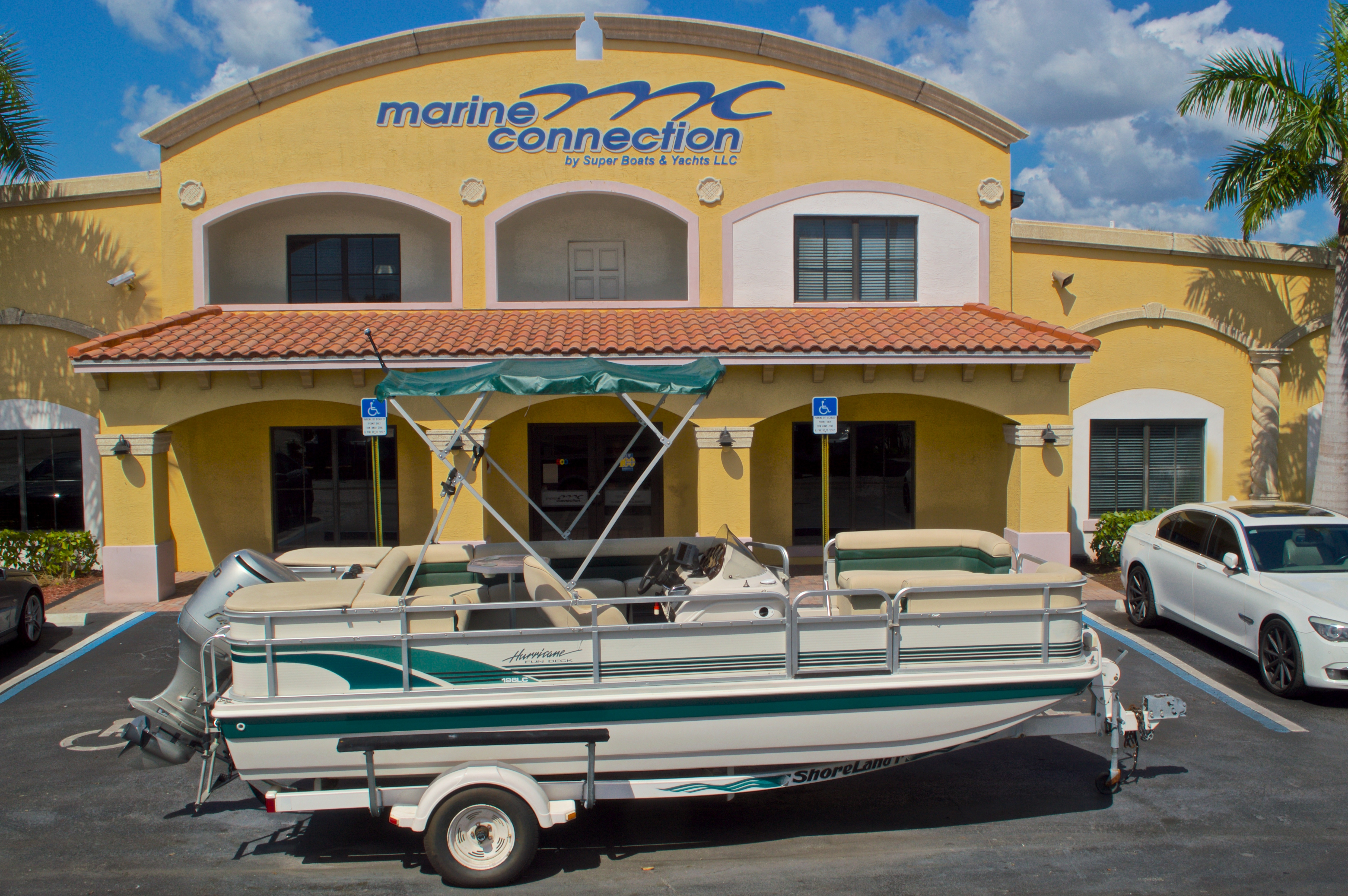 Used 1997 Hurricane Fun Deck 196LC boat for sale in West Palm Beach, FL