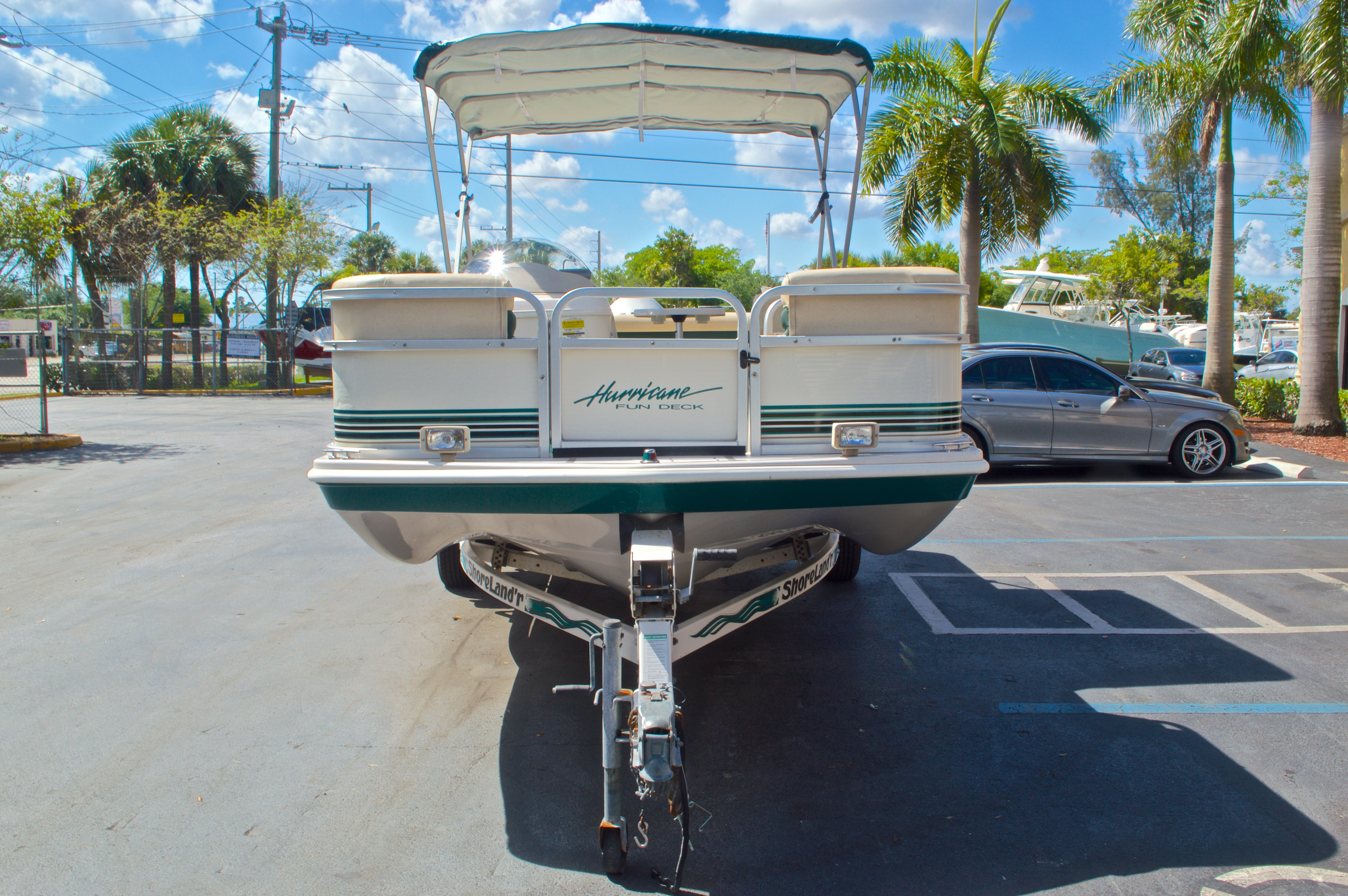 Thumbnail 2 for Used 1997 Hurricane Fun Deck 196LC boat for sale in West Palm Beach, FL
