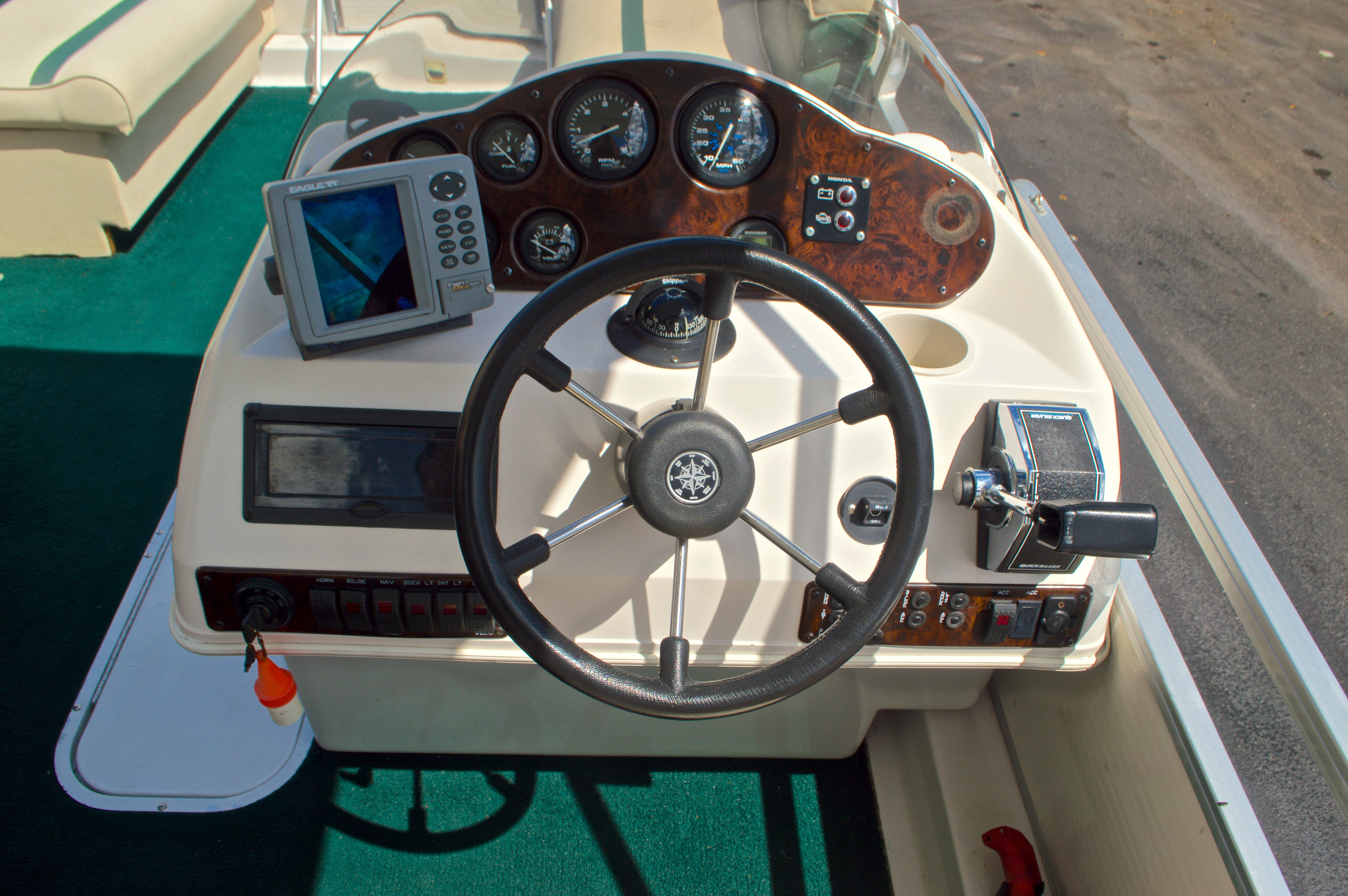 Thumbnail 14 for Used 1997 Hurricane Fun Deck 196LC boat for sale in West Palm Beach, FL