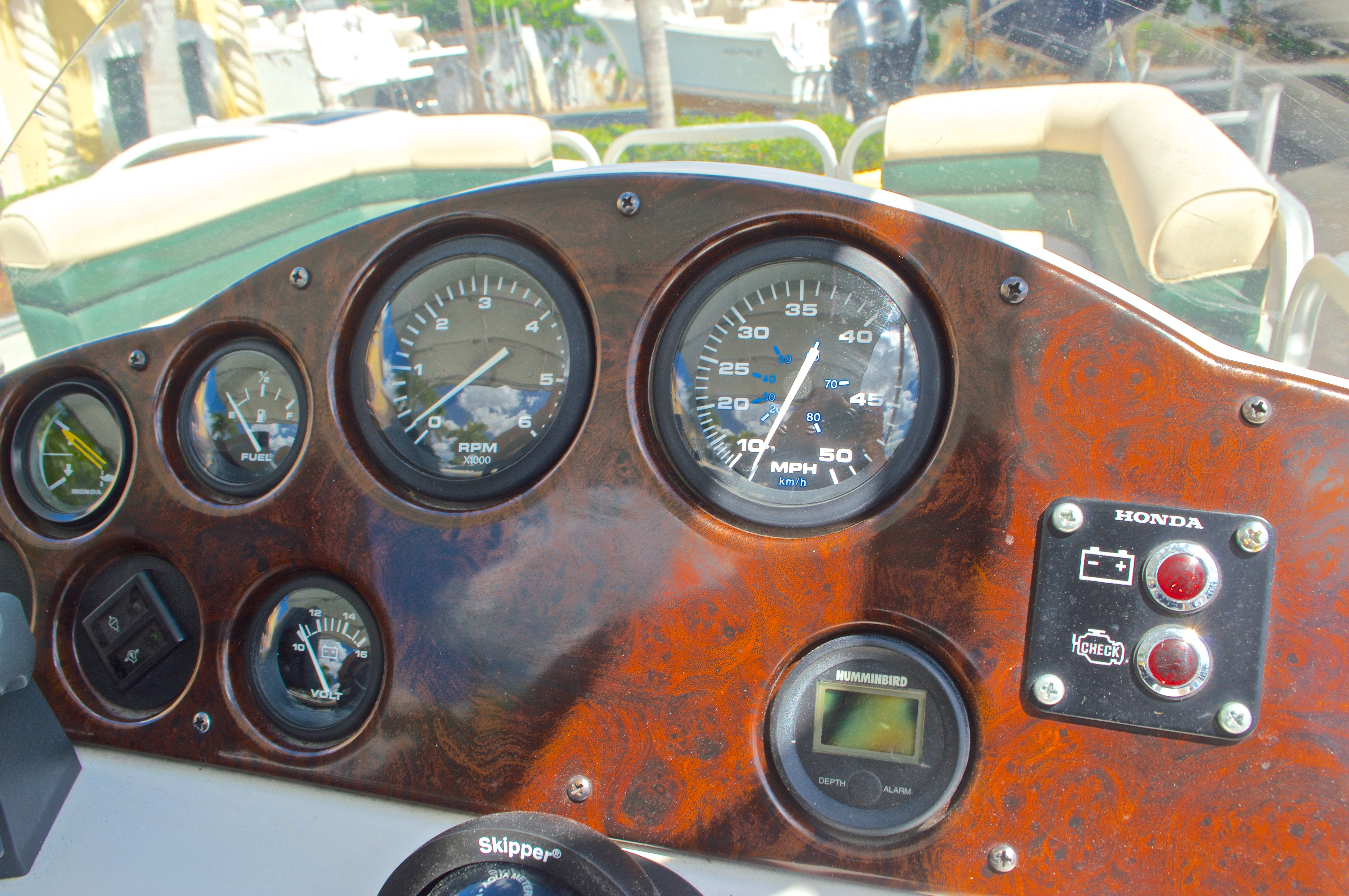 Thumbnail 16 for Used 1997 Hurricane Fun Deck 196LC boat for sale in West Palm Beach, FL
