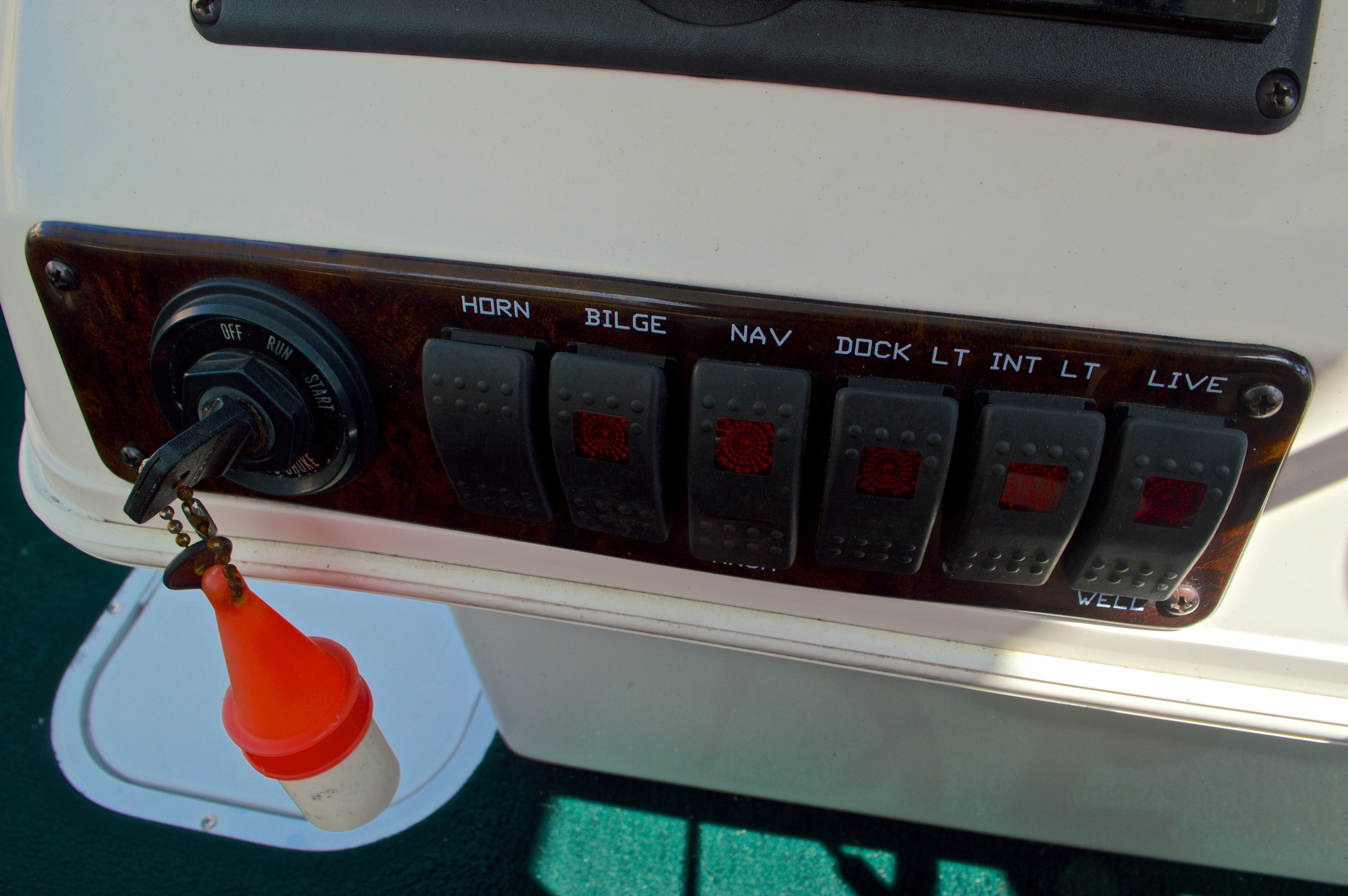 Thumbnail 19 for Used 1997 Hurricane Fun Deck 196LC boat for sale in West Palm Beach, FL