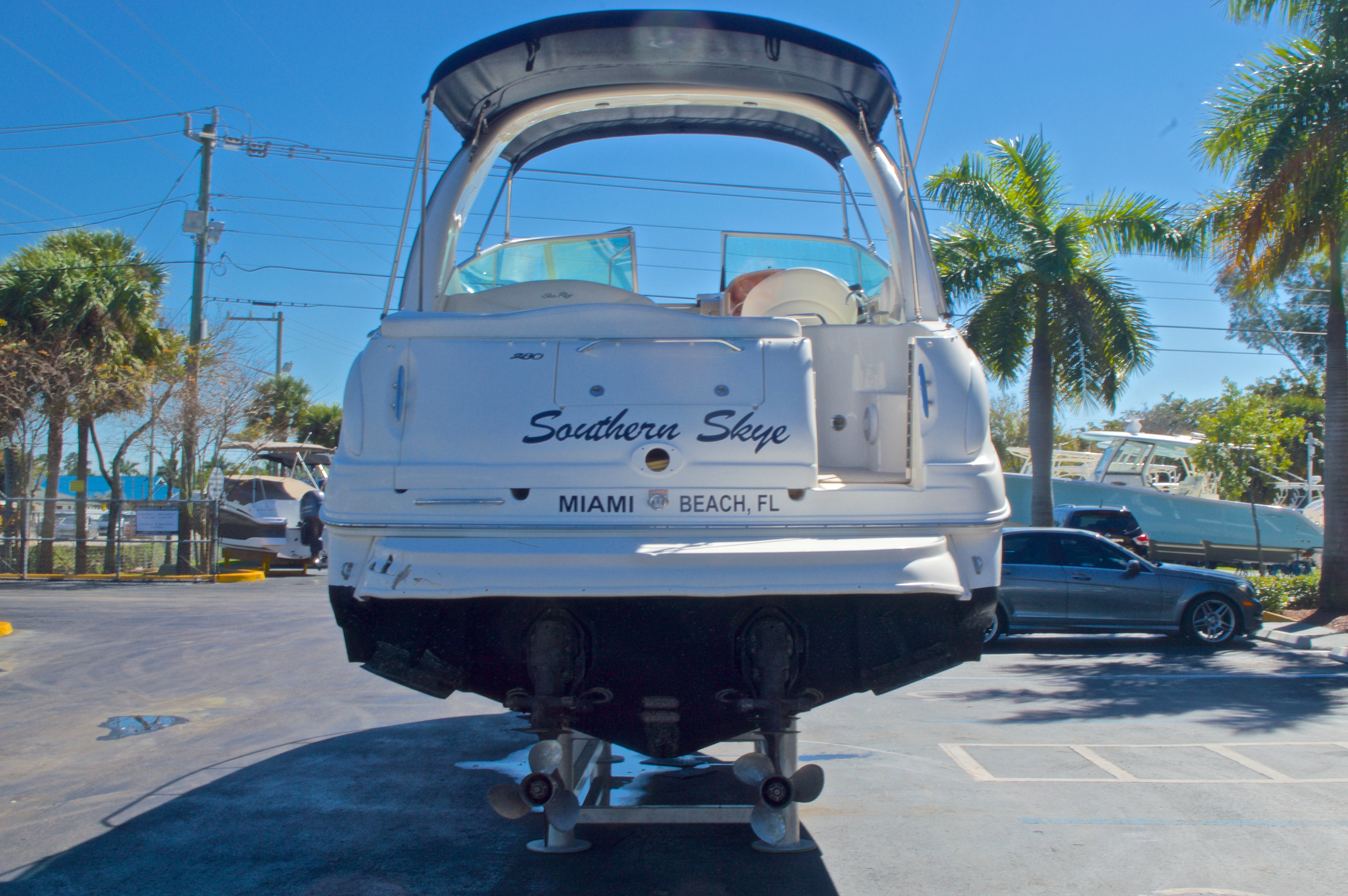 Thumbnail 9 for Used 2005 Sea Ray 280 Sundancer boat for sale in West Palm Beach, FL