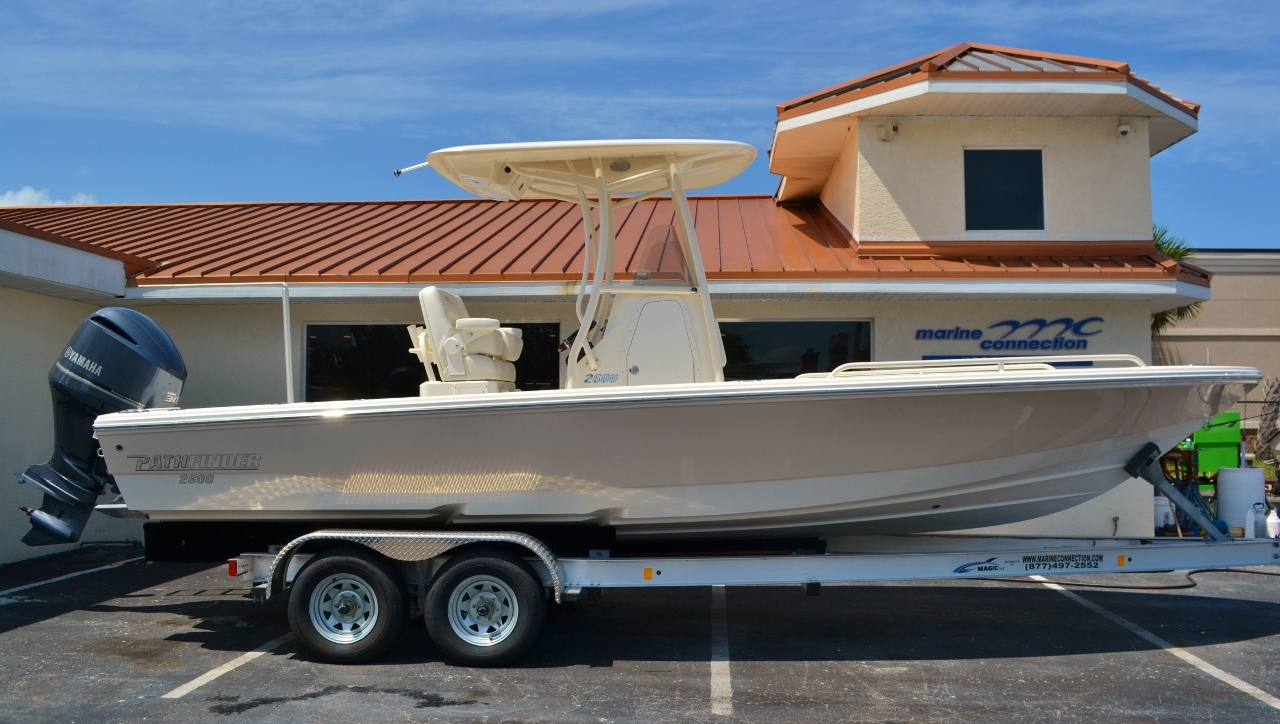 New 2016 Pathfinder 2600 TRS boat for sale in Vero Beach, FL