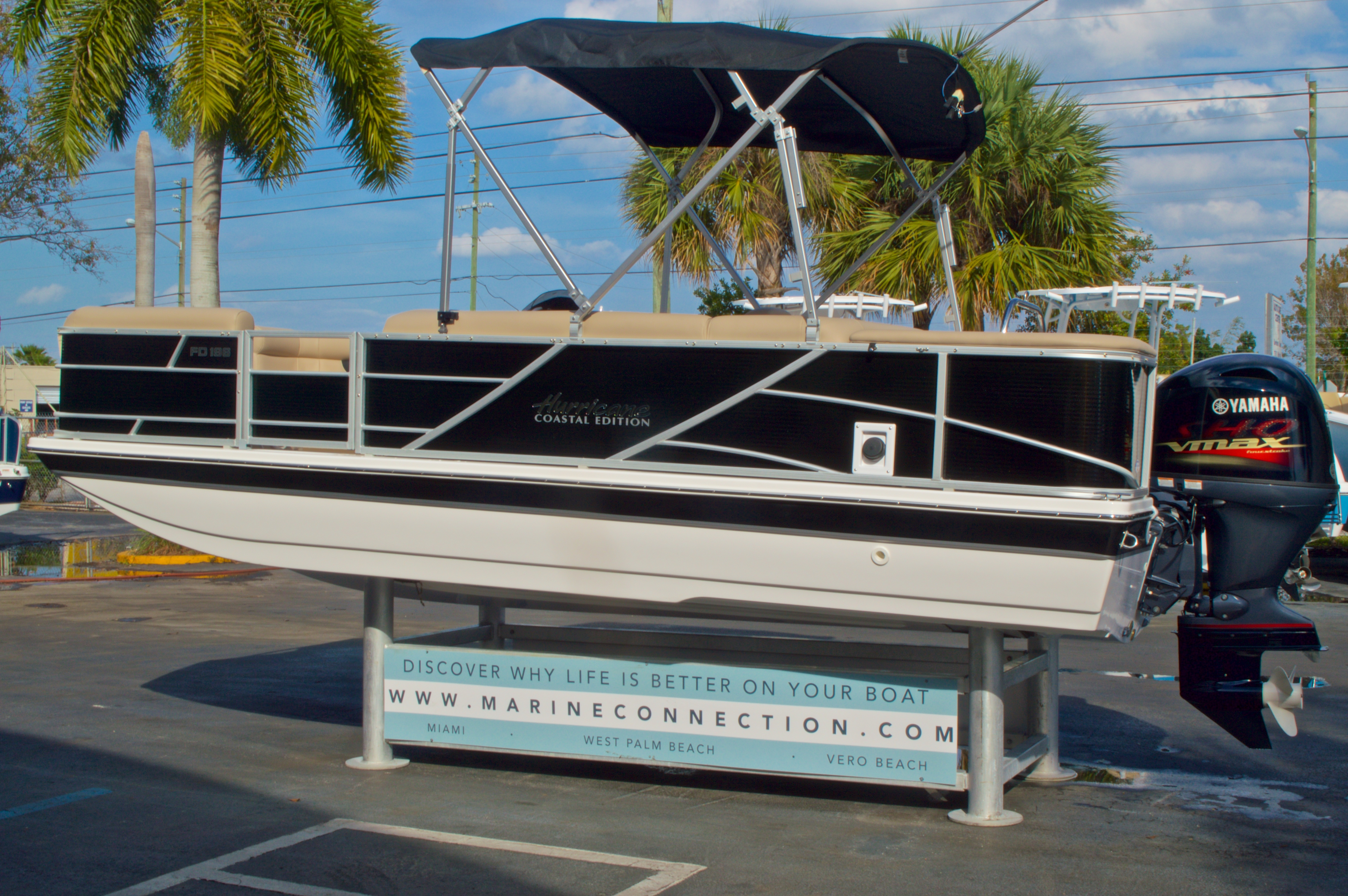 Thumbnail 6 for New 2016 Hurricane Fundeck FD 196 OB boat for sale in West Palm Beach, FL