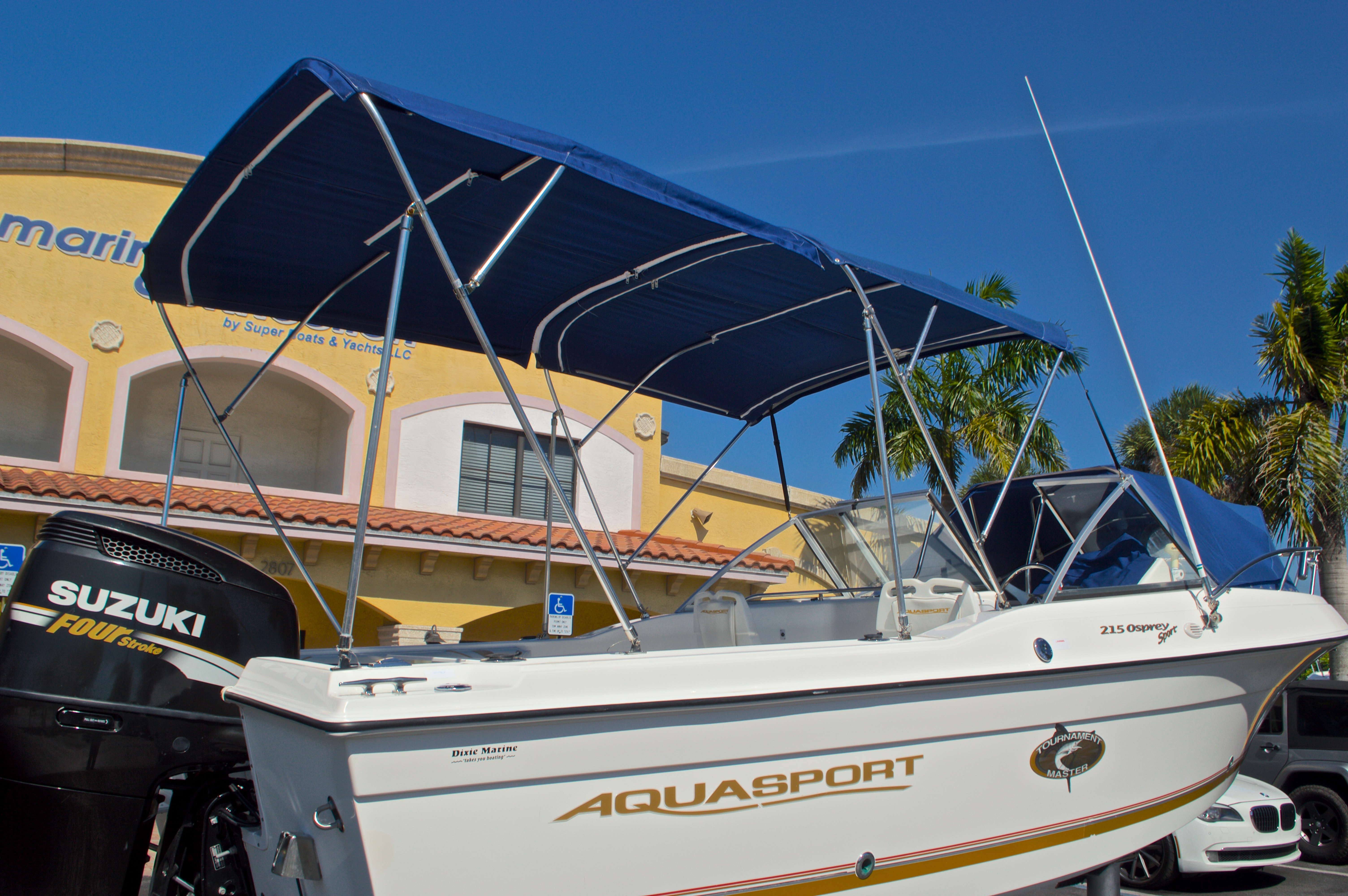 Thumbnail 8 for Used 2000 Aquasport 215 Osprey Sport DC boat for sale in West Palm Beach, FL